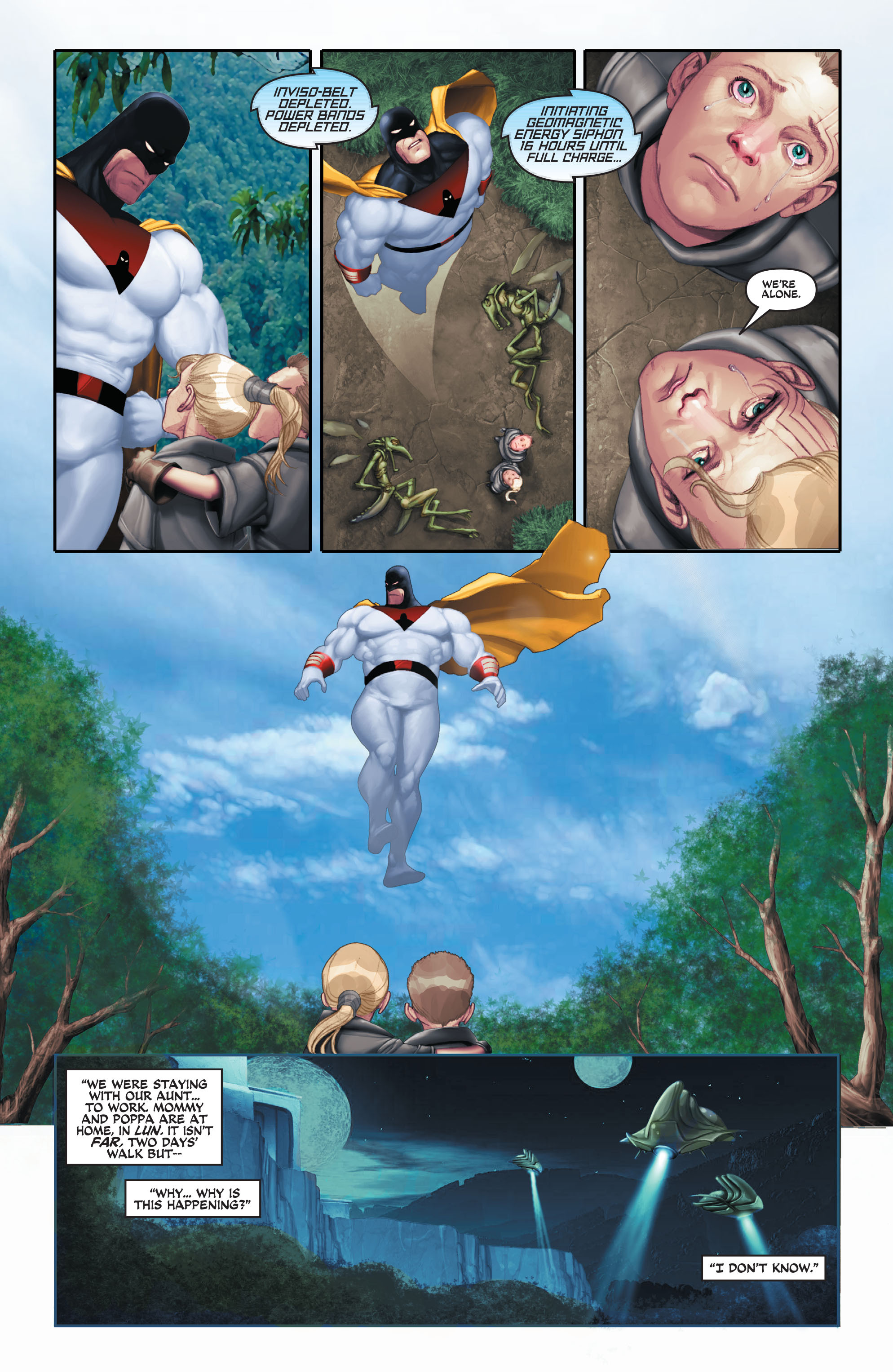 Read online Space Ghost (2016) comic -  Issue # Full - 81