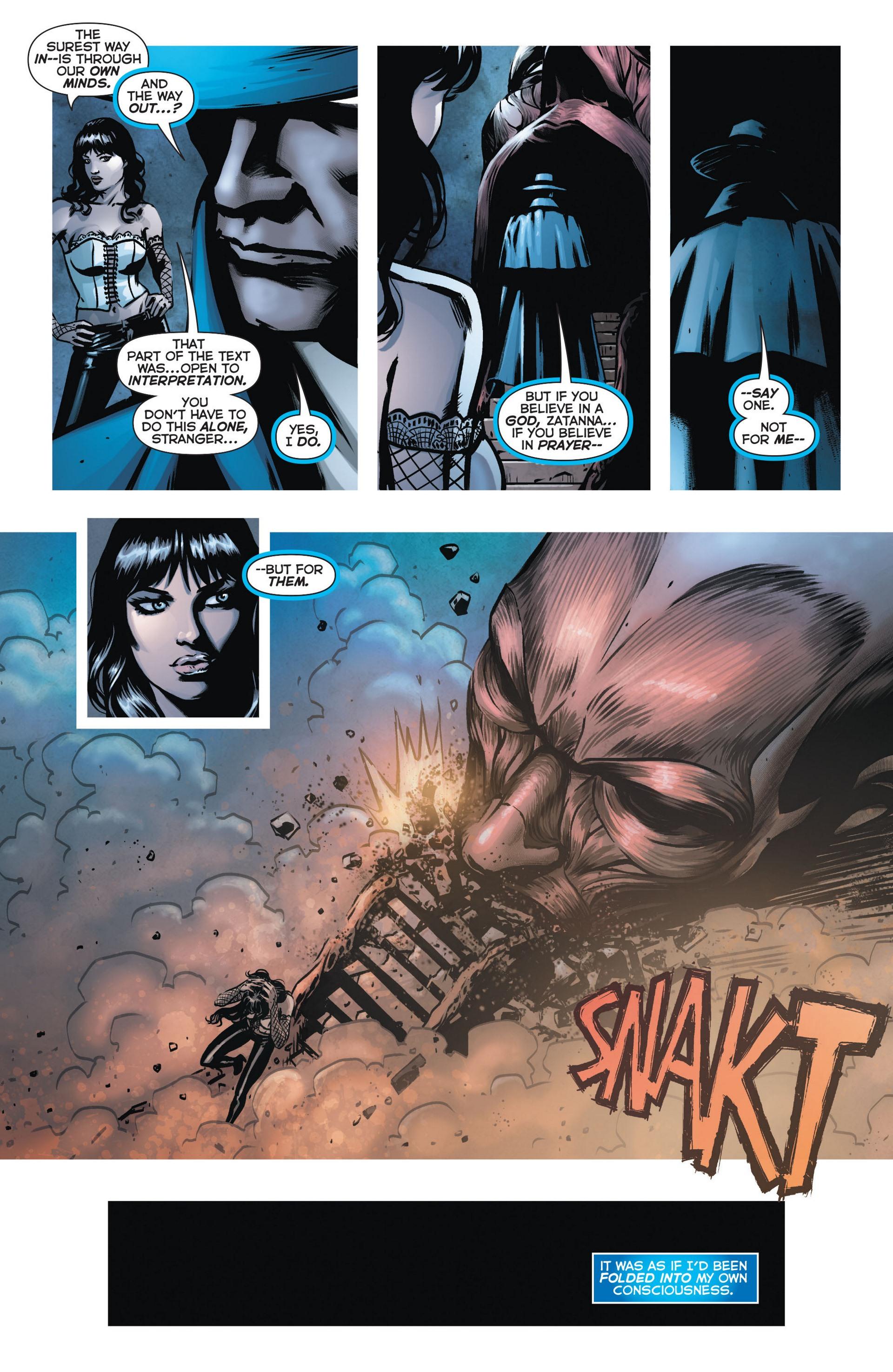 Read online Trinity of Sin: The Phantom Stranger comic -  Issue #9 - 8