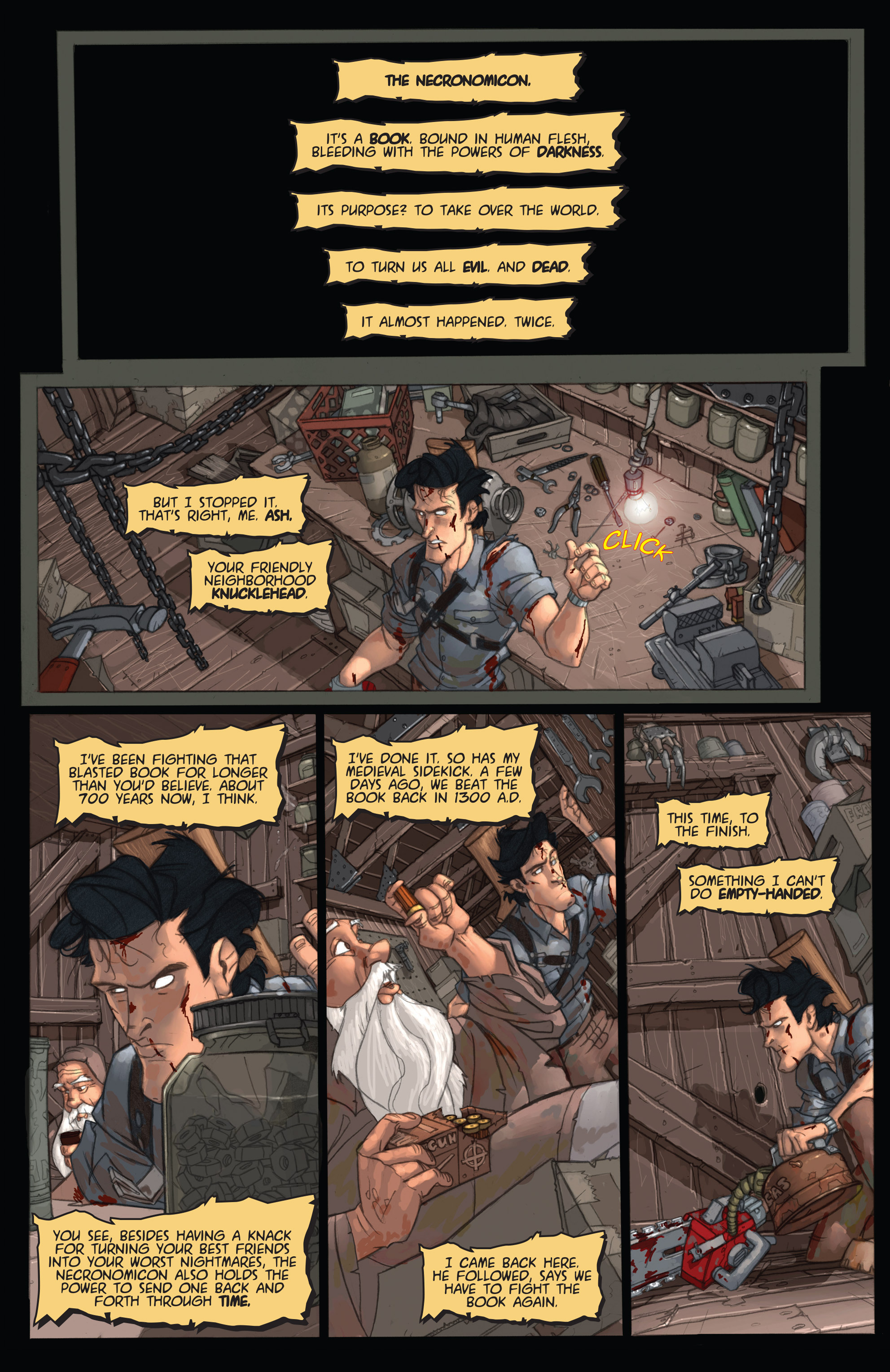 Read online Army of Darkness: Ashes 2 Ashes comic -  Issue #2 - 7