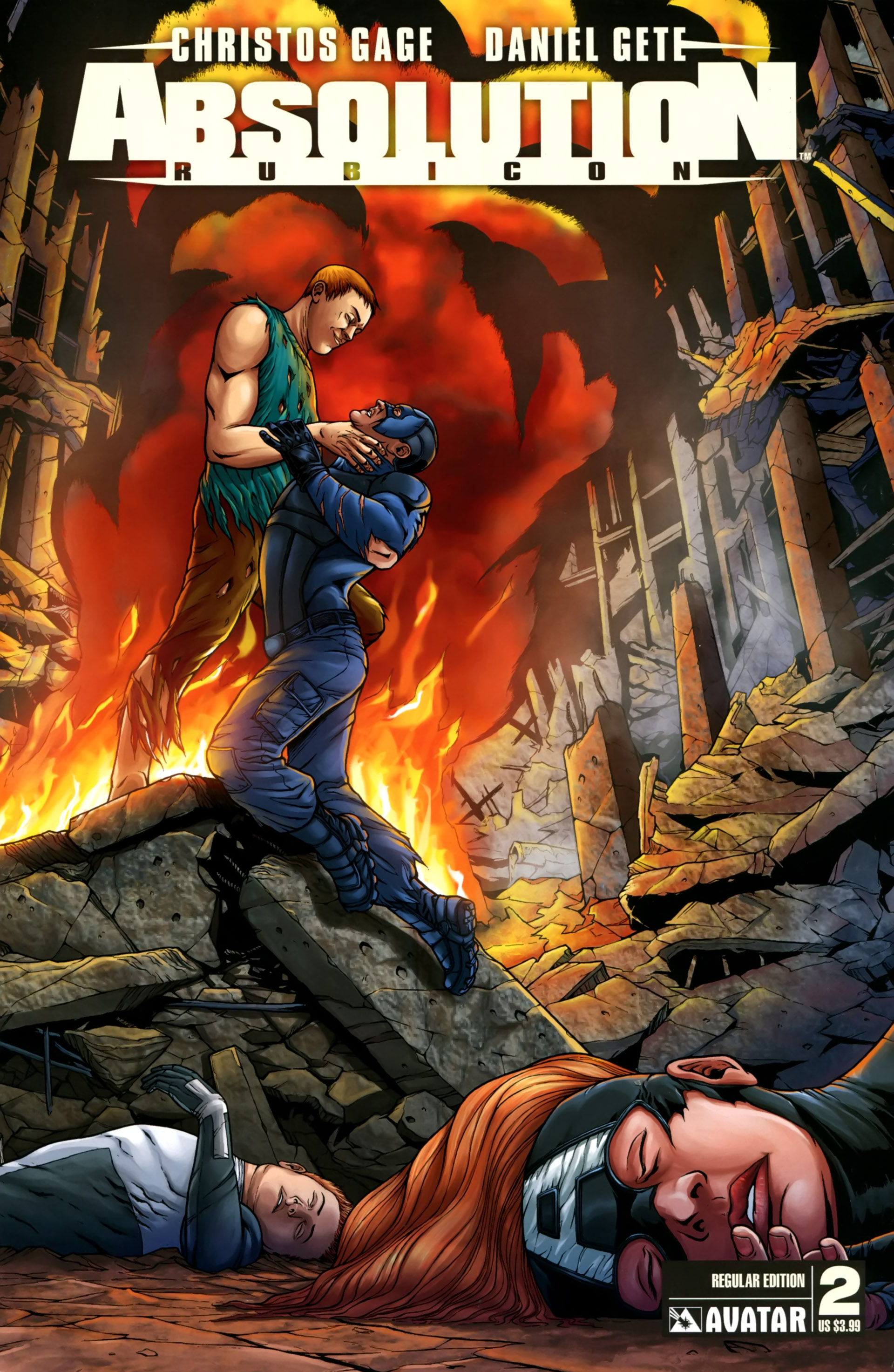 Read online Absolution: Rubicon comic -  Issue #2 - 1