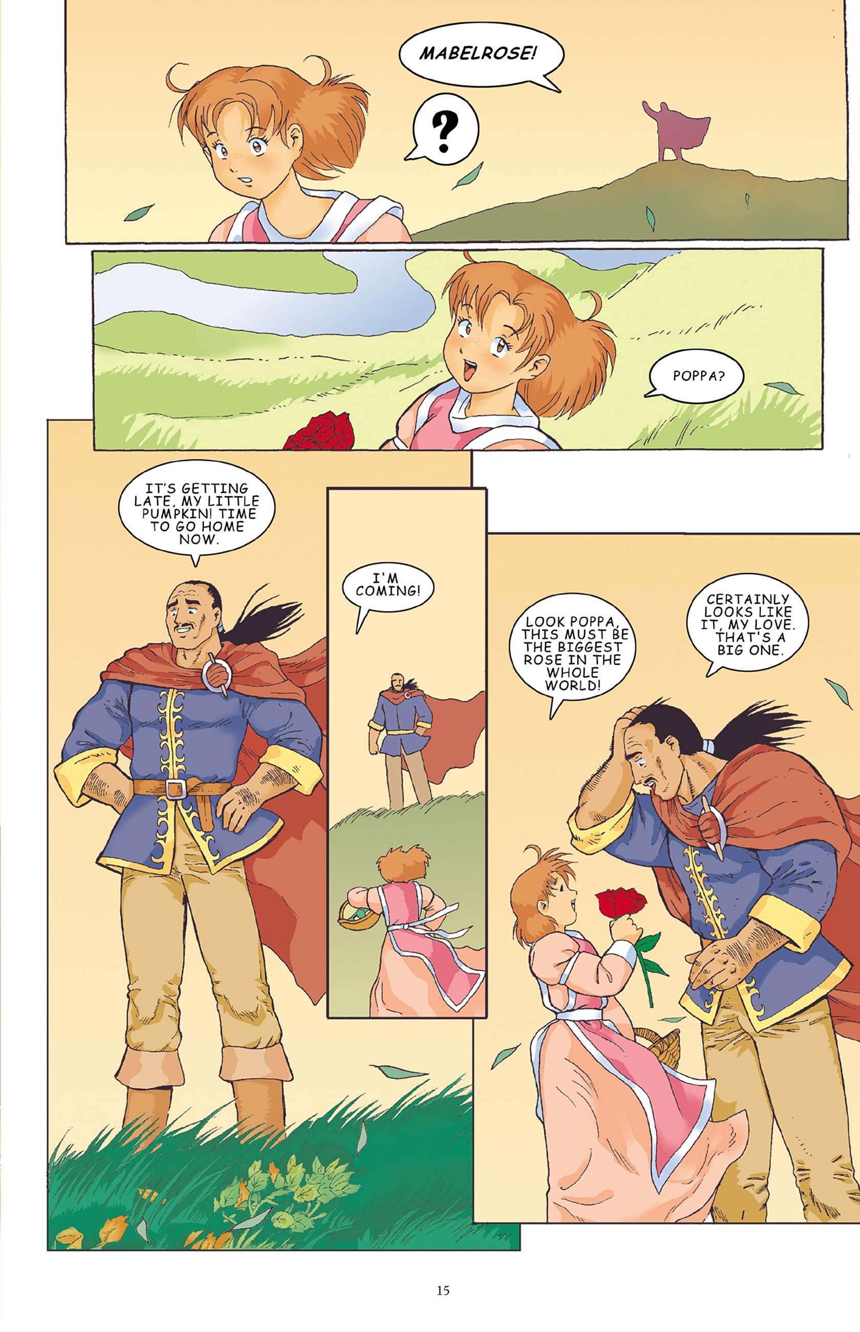 Read online Courageous Princess comic -  Issue # TPB 1 - 16