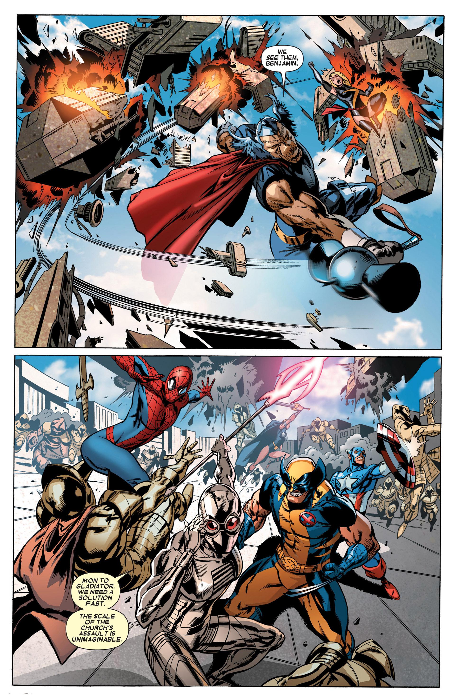 Read online Annihilators: Earthfall comic -  Issue #3 - 19