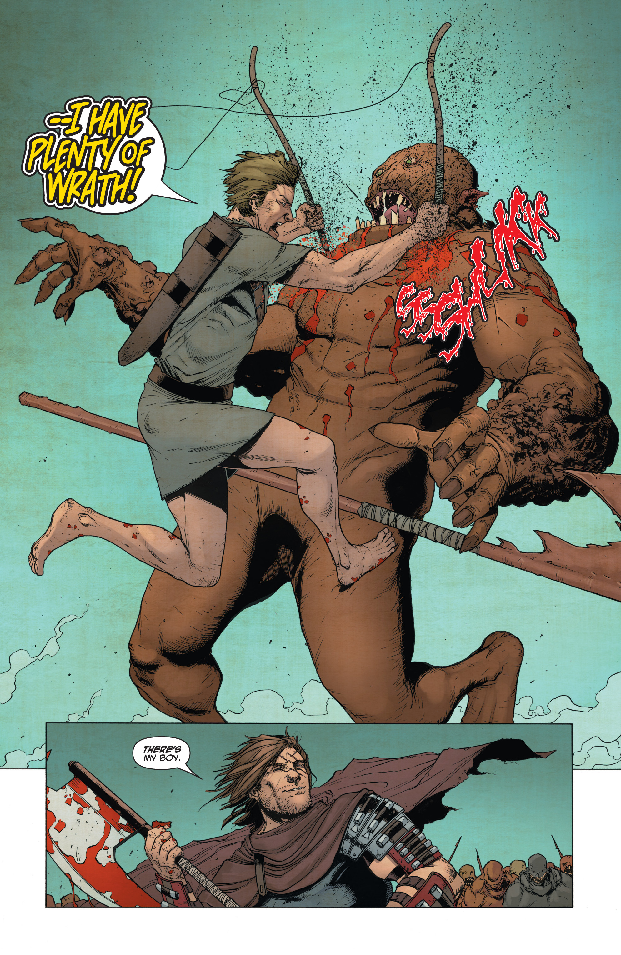 Read online Wrath of the Eternal Warrior comic -  Issue #14 - 12