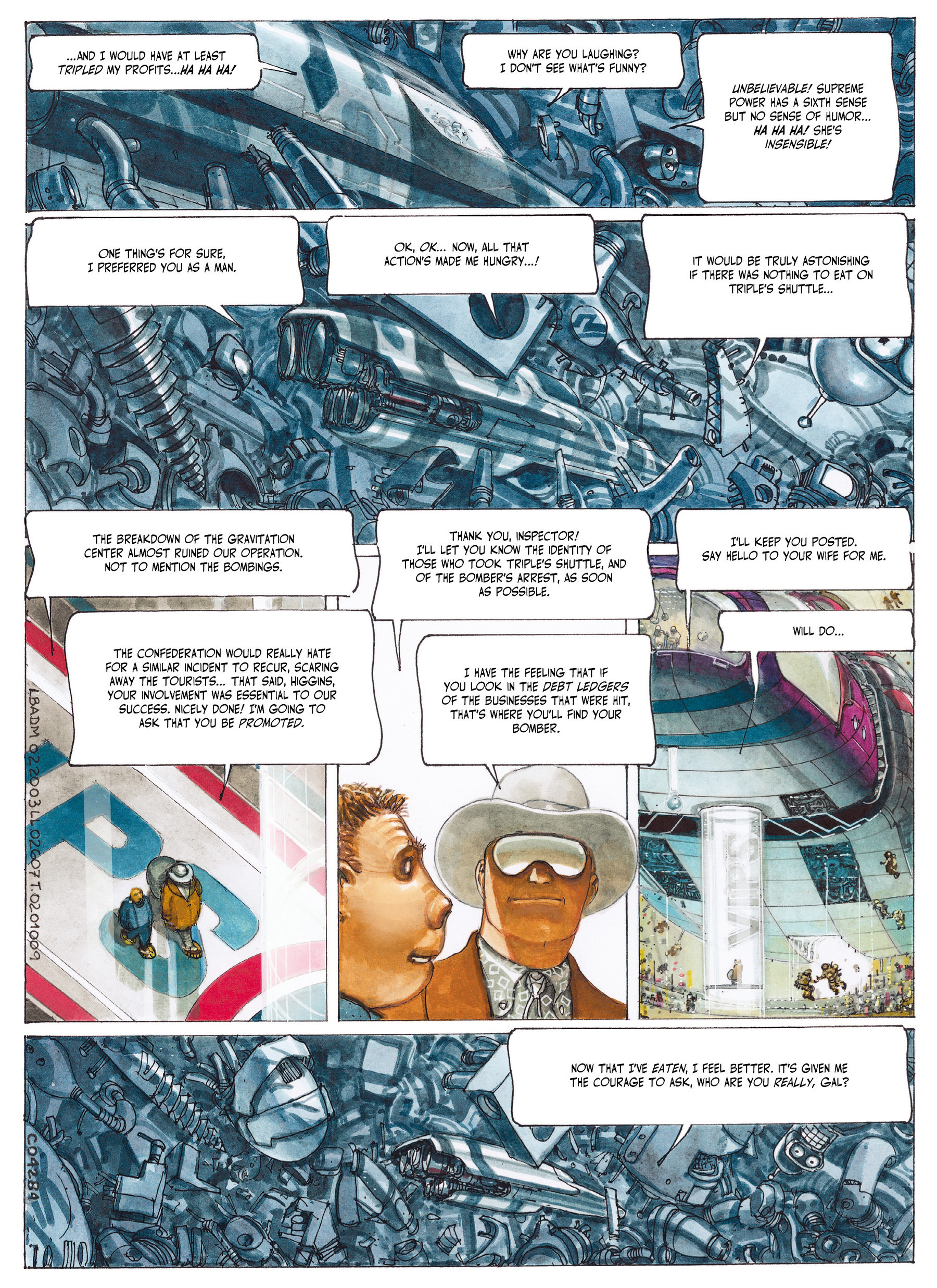 Read online The Fourth Power comic -  Issue #2 - 63
