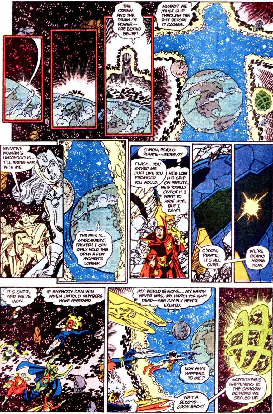 Crisis on Infinite Earths (1985) 12 Page 28