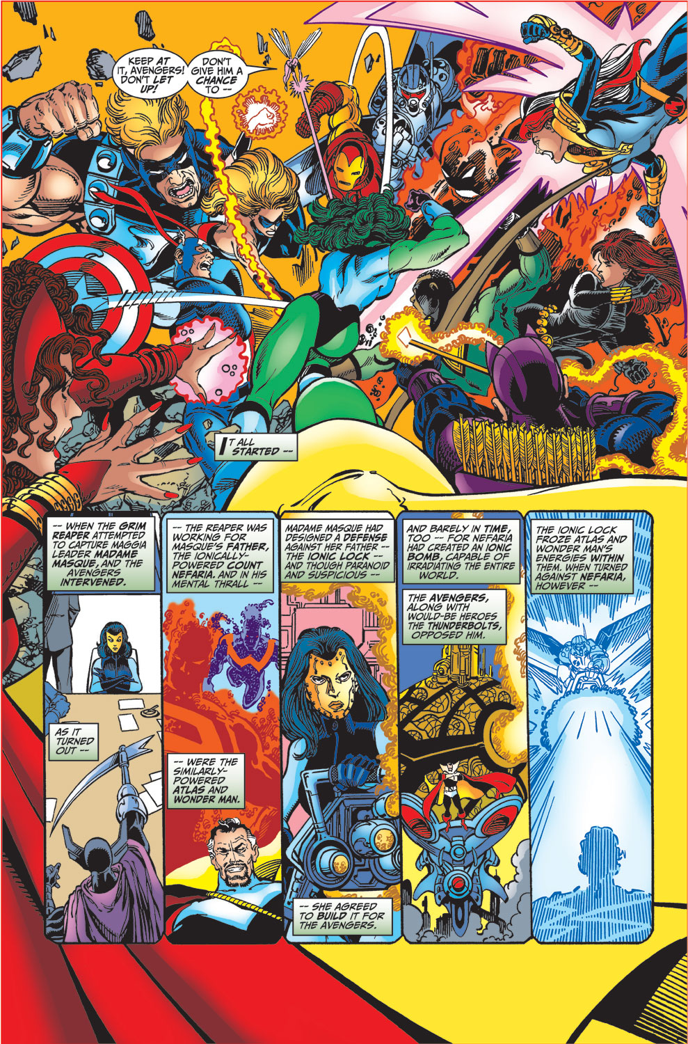 Read online Avengers (1998) comic -  Issue #34 - 2