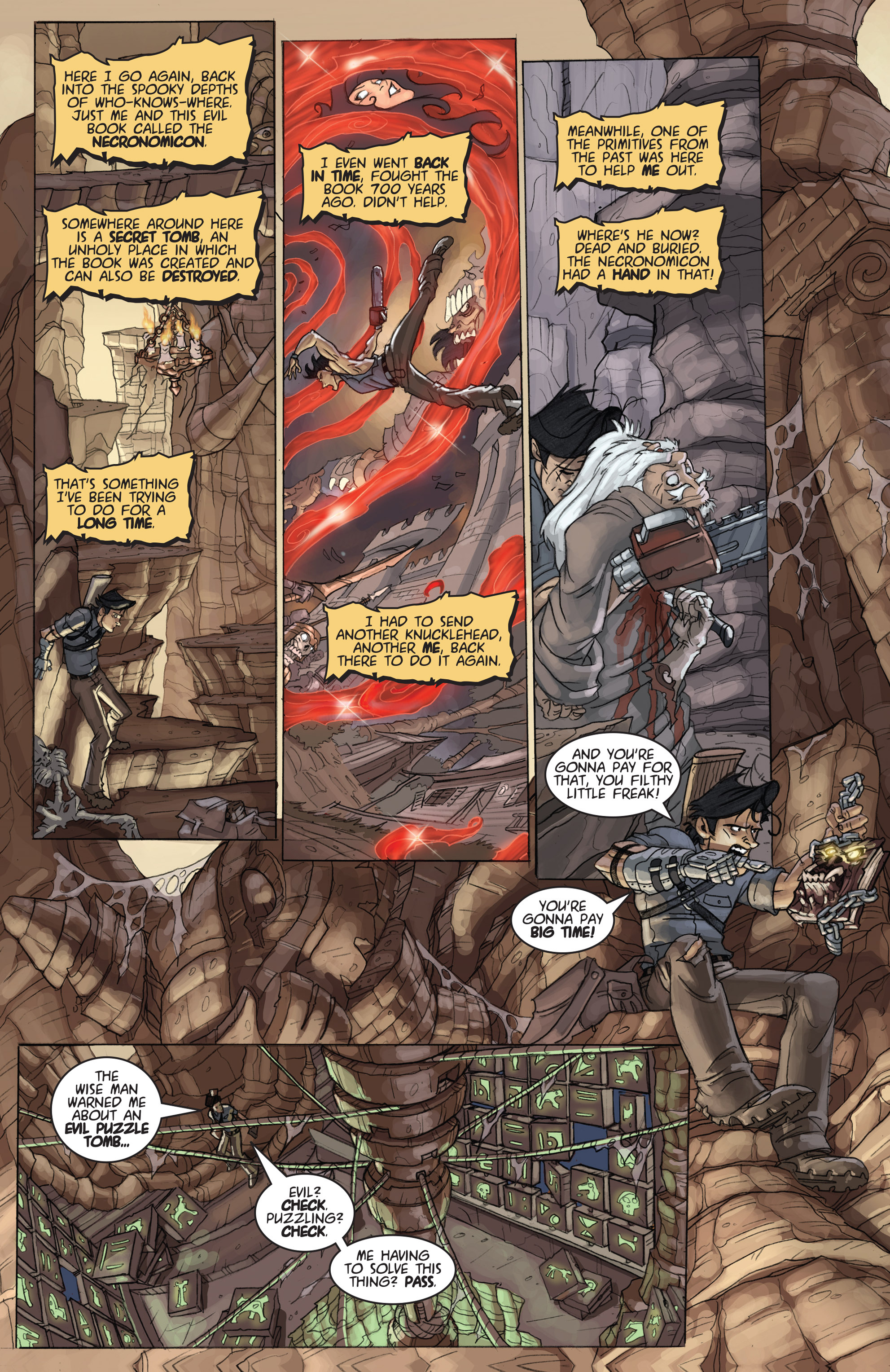 Read online Army of Darkness: Ashes 2 Ashes comic -  Issue #4 - 6