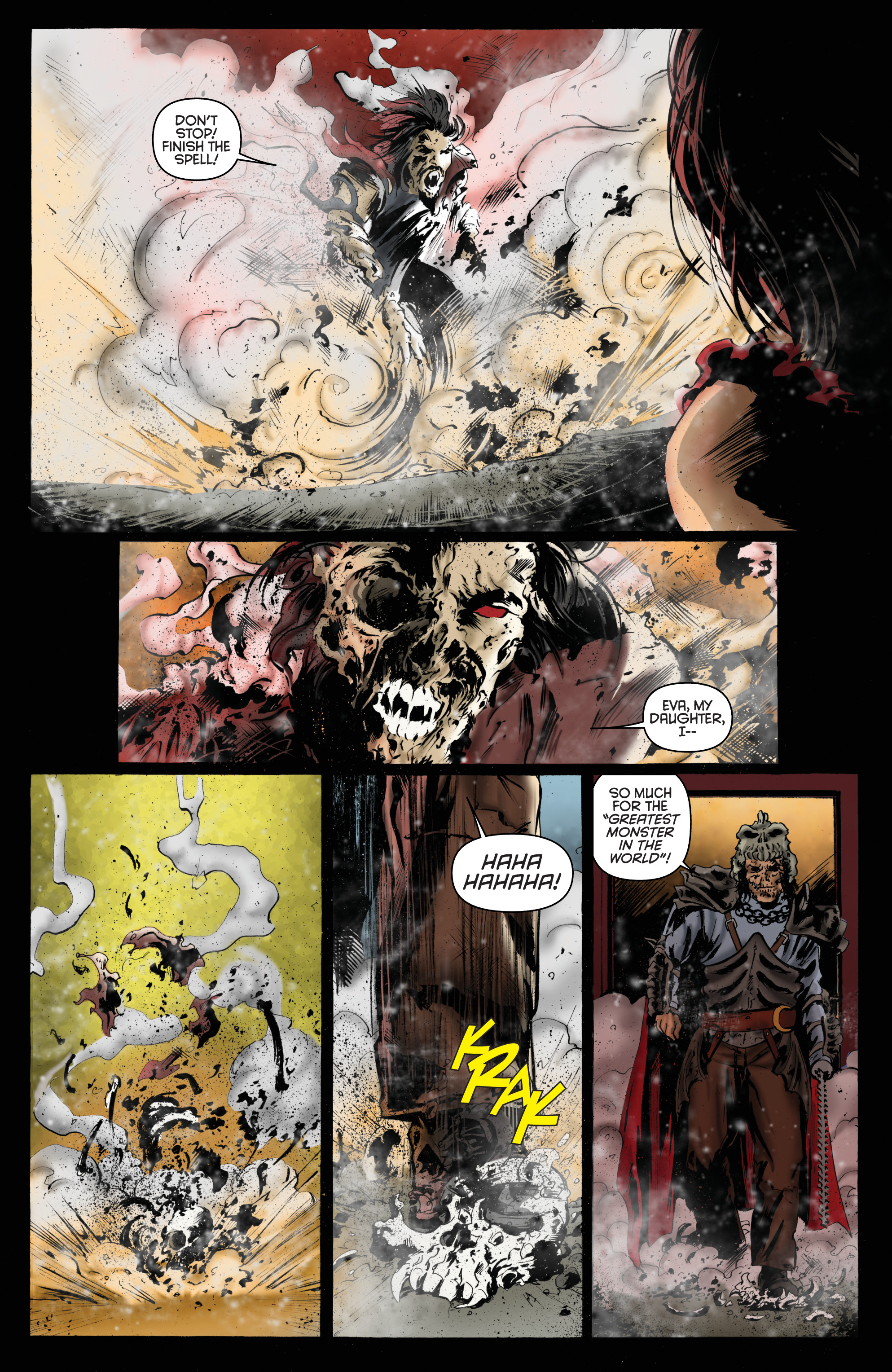 Read online Army of Darkness: Furious Road comic -  Issue #6 - 19
