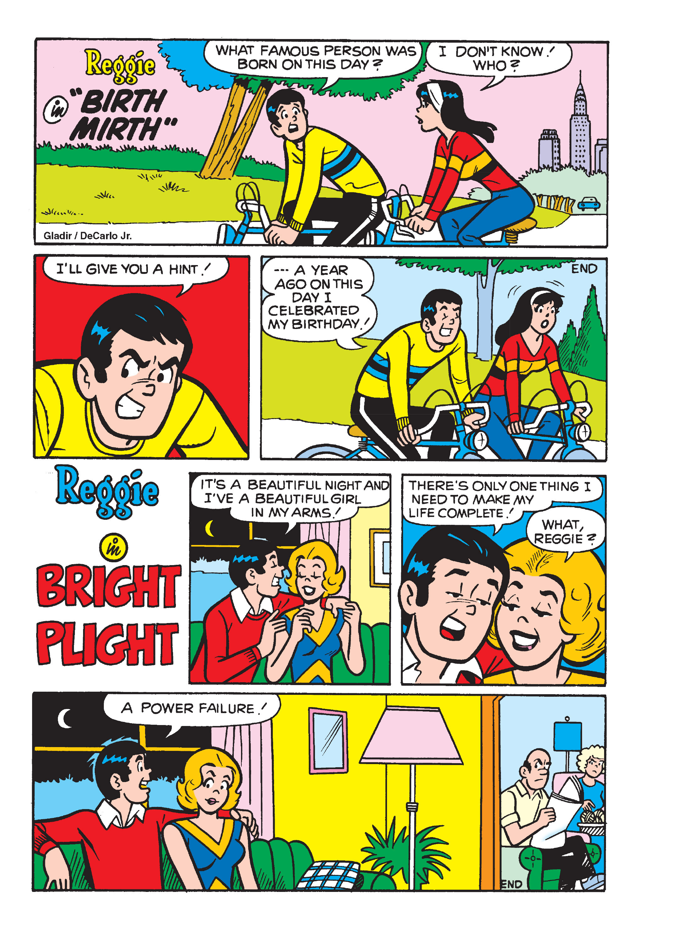 Read online Archie's Funhouse Double Digest comic -  Issue #13 - 126