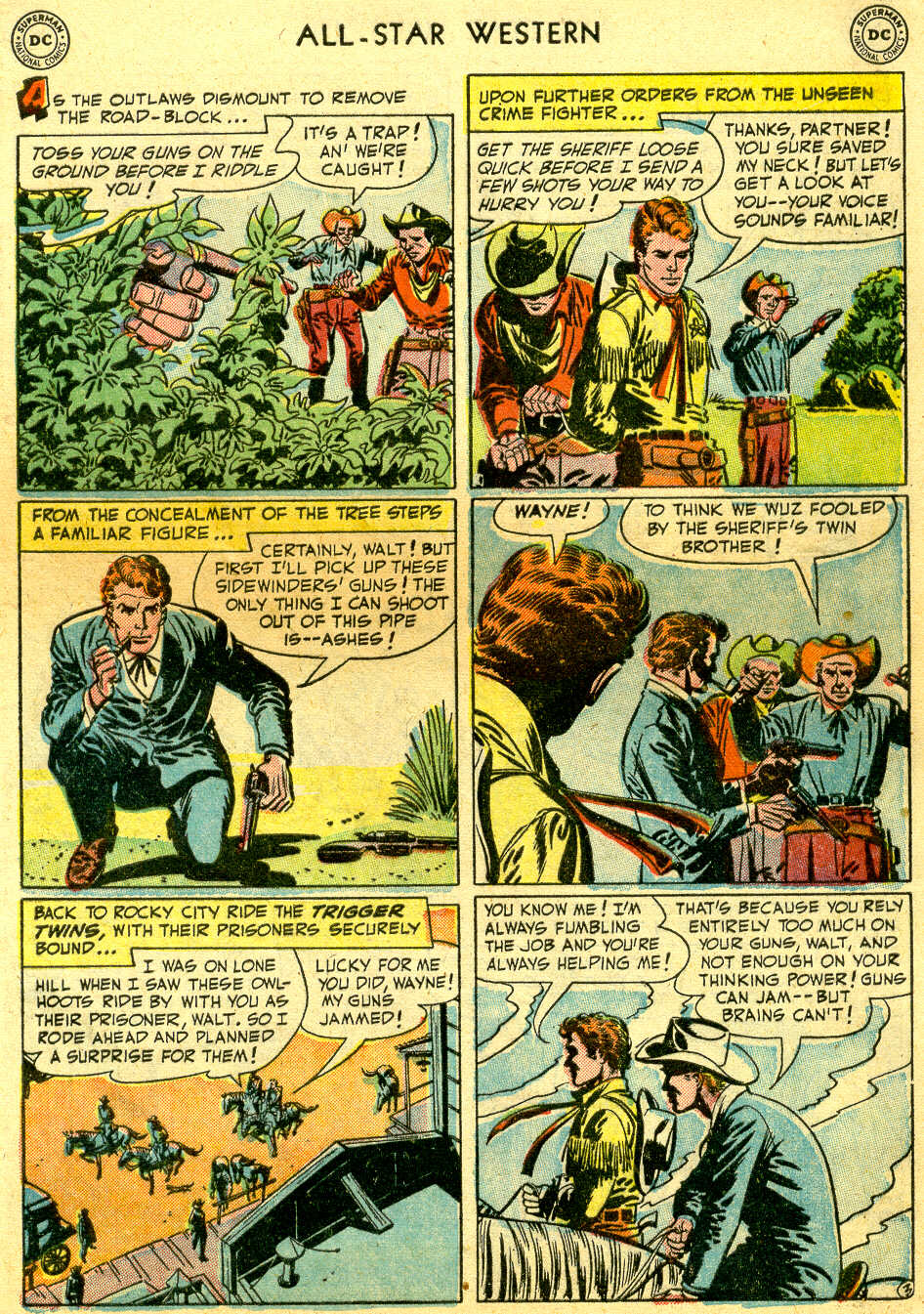 Read online All-Star Western (1951) comic -  Issue #64 - 5