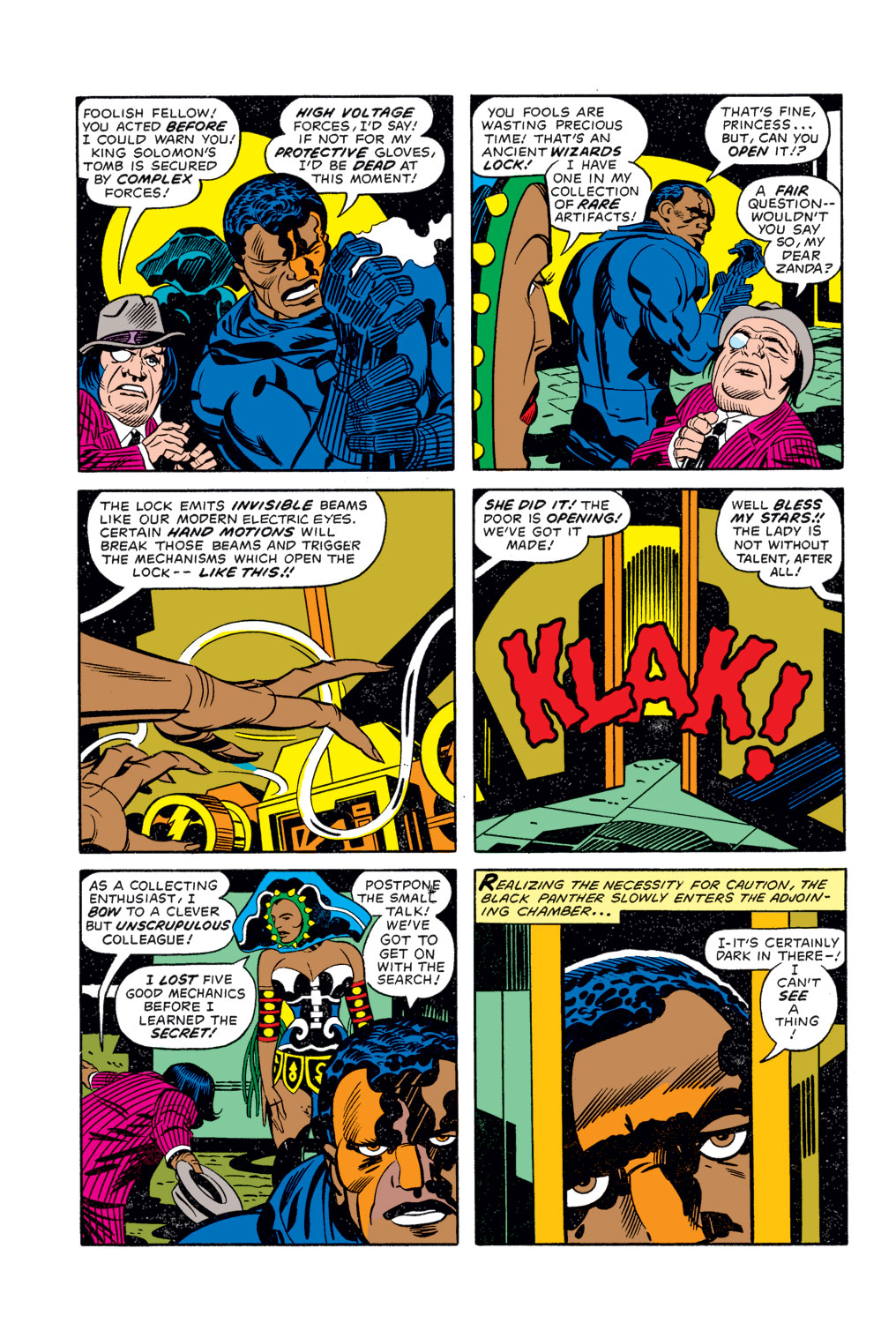 Black Panther (1977) issue 3 - Page 9