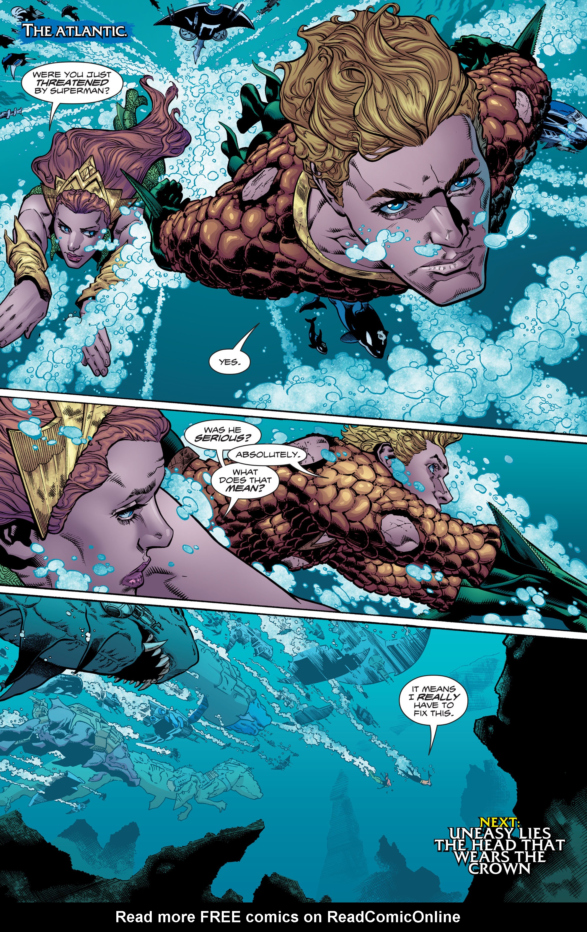 Read online Aquaman (2016) comic -  Issue #6 - 21