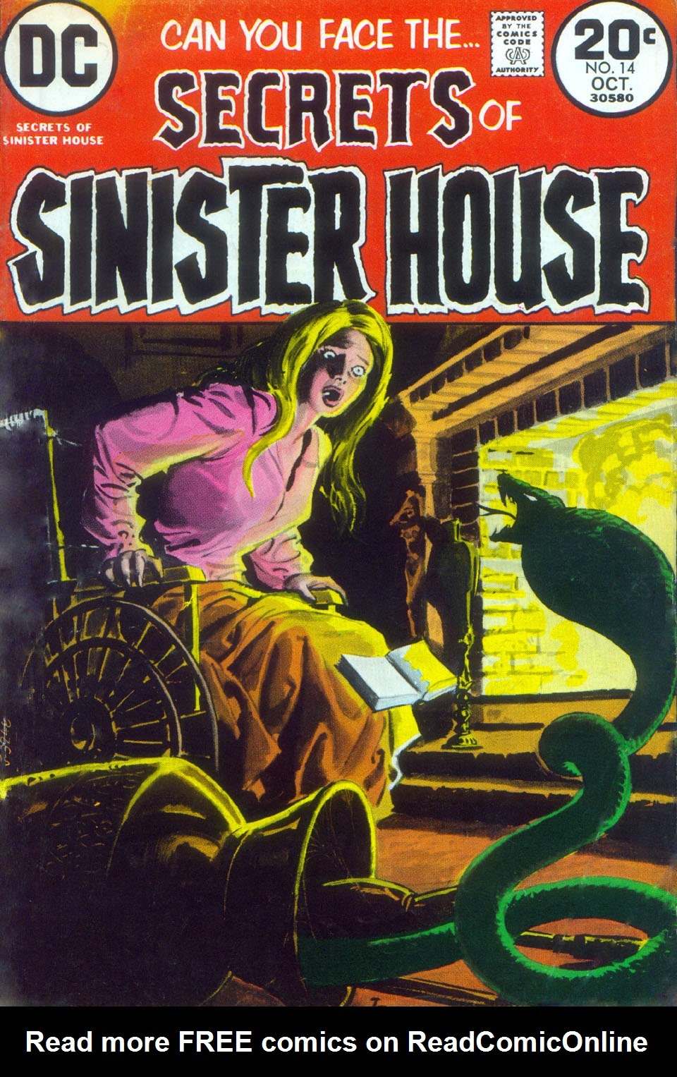 Secrets of Sinister House (1972) 14 Page 1