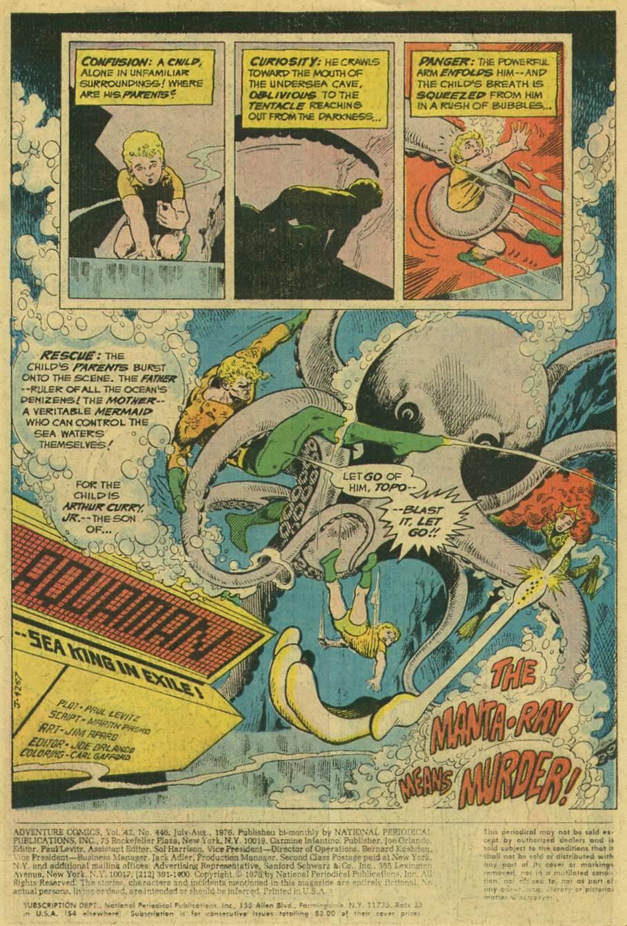 Read online Adventure Comics (1938) comic -  Issue #446 - 3