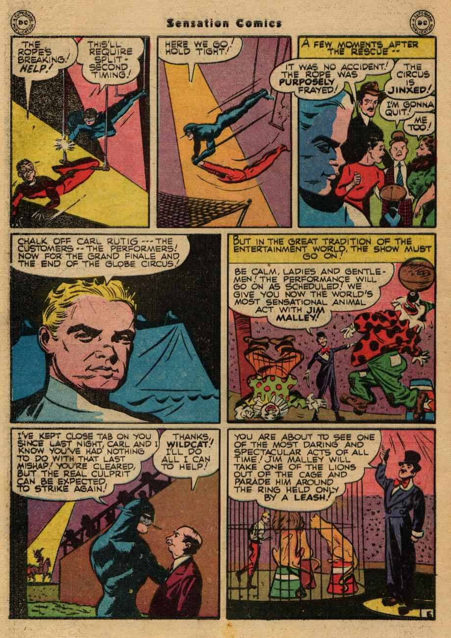 Read online Sensation (Mystery) Comics comic -  Issue #61 - 46
