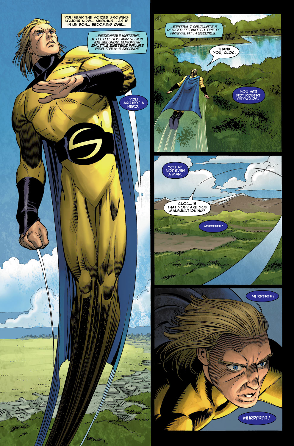 Read online Sentry (2006) comic -  Issue #6 - 20