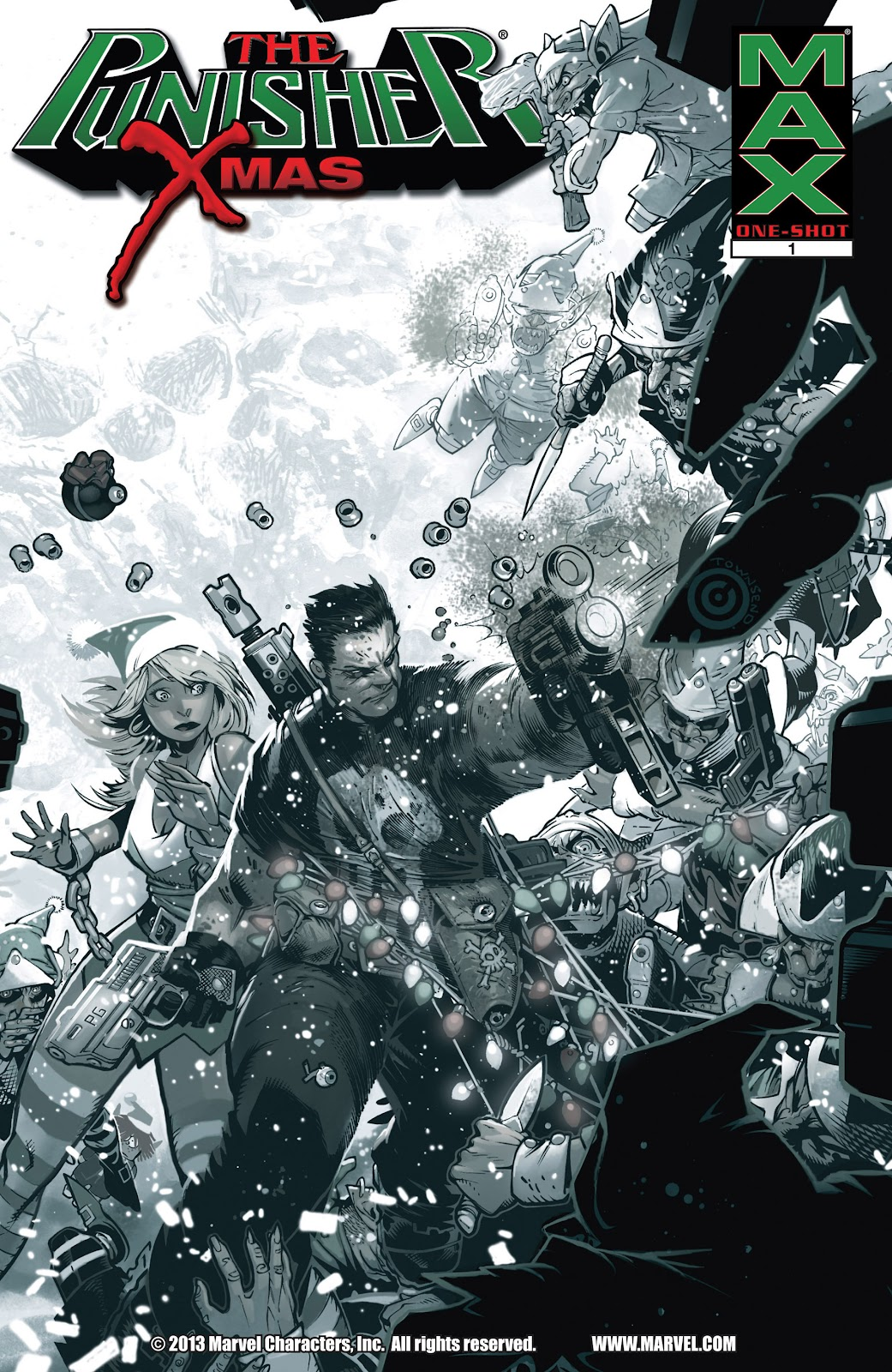 Punisher MAX X-Mas Special issue Full - Page 1