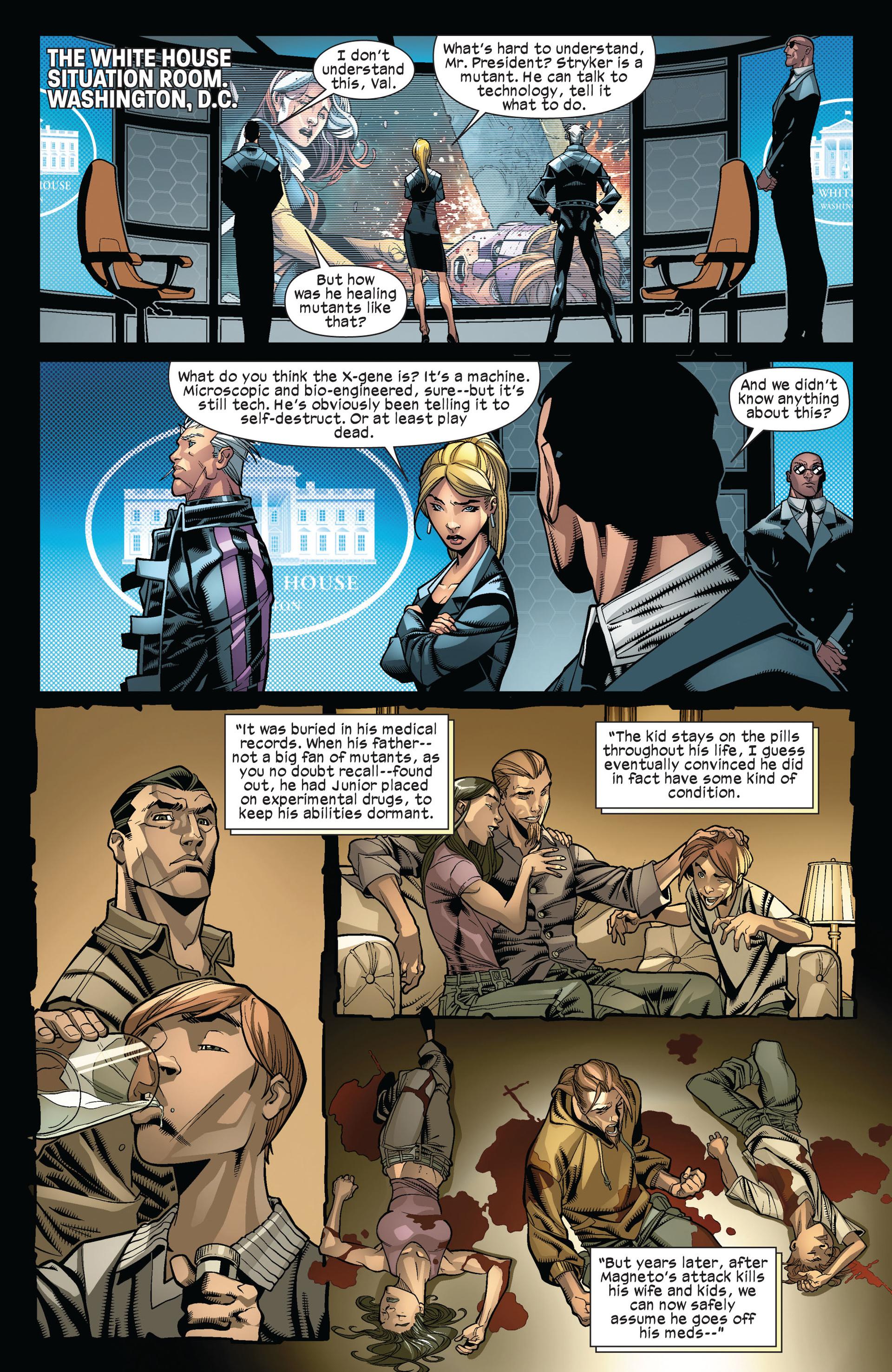 Read online Ultimate Comics X-Men comic -  Issue #6 - 7