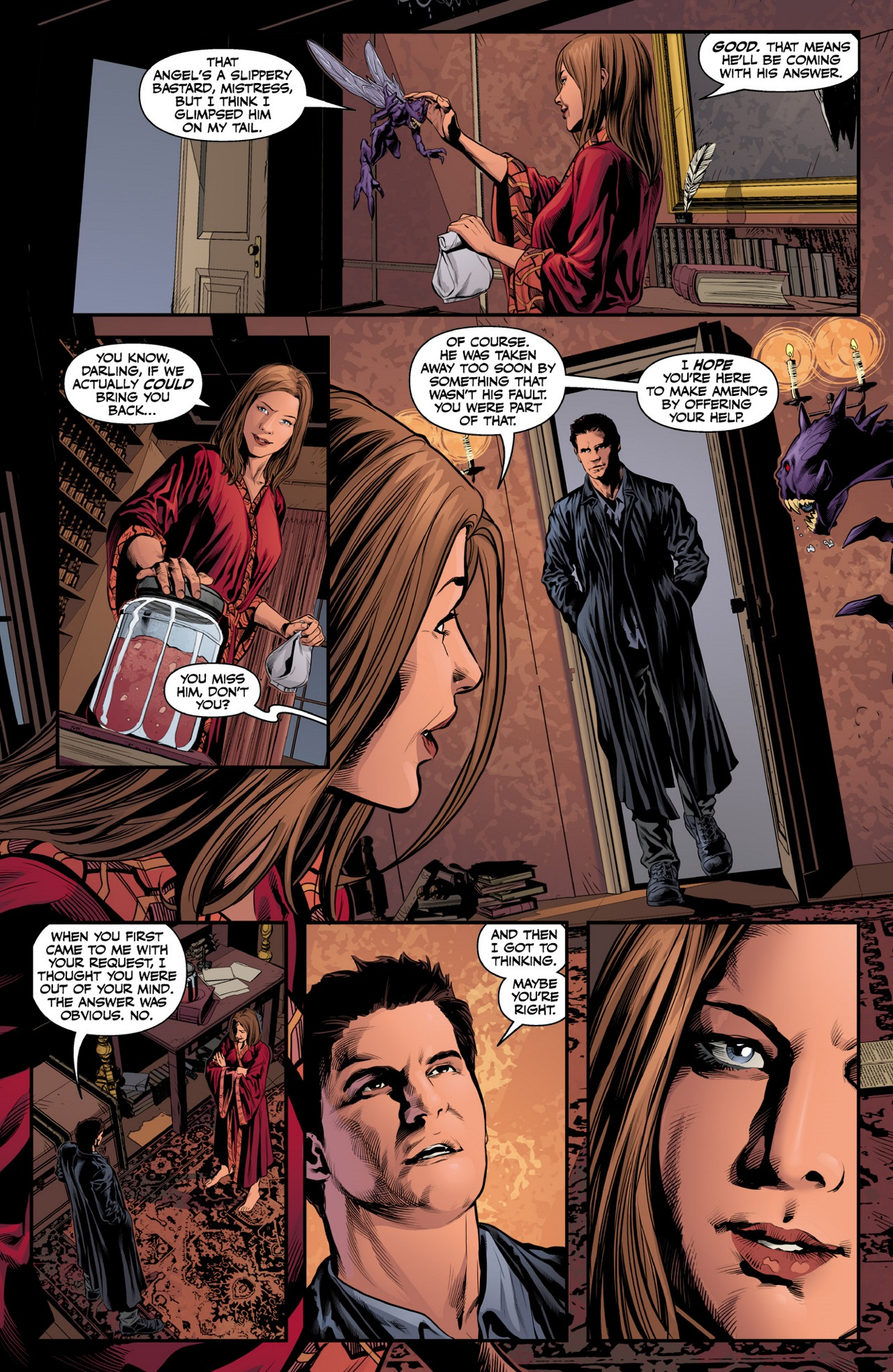 Read online Angel & Faith Season 10 comic -  Issue #8 - 18
