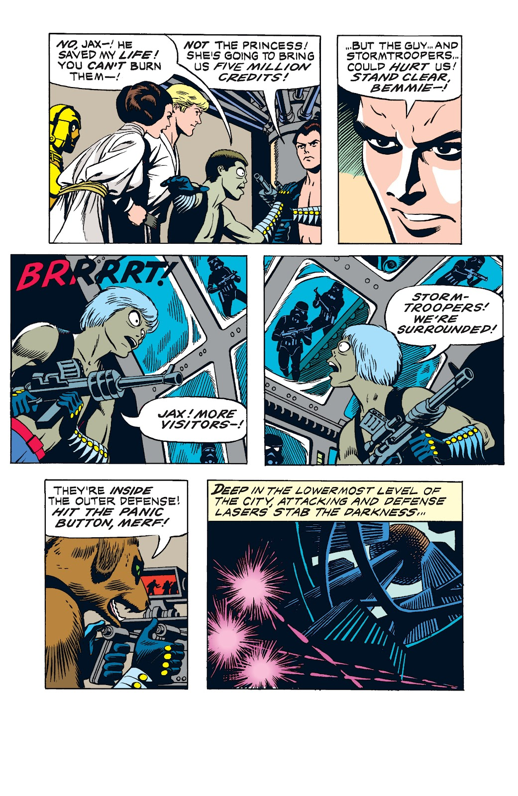 Read online Star Wars Legends: The Newspaper Strips - Epic Collection comic -  Issue # TPB (Part 2) - 14