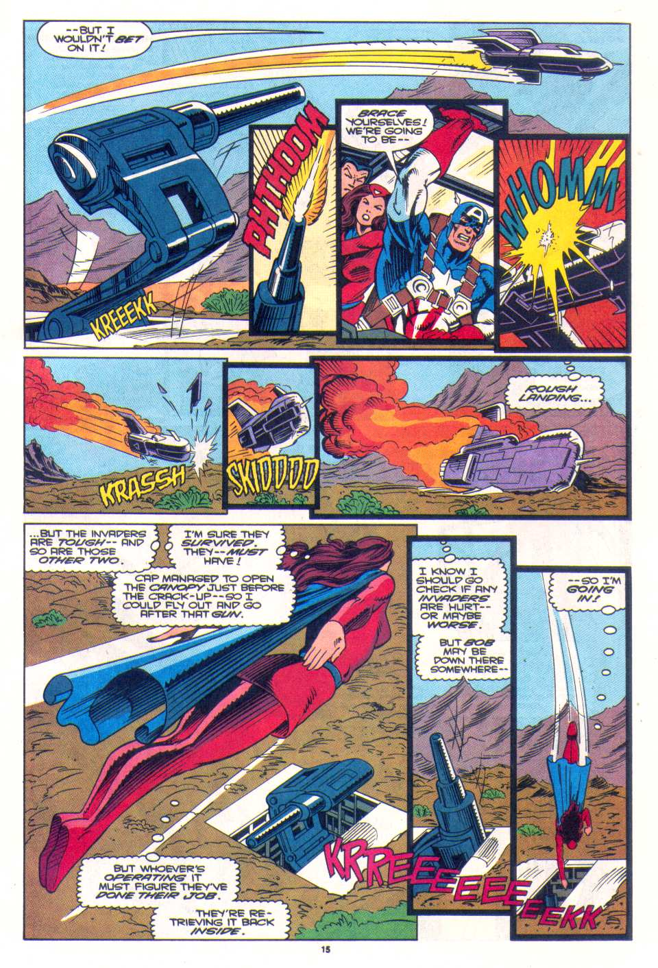 Read online The Invaders (1993) comic -  Issue #3 - 12