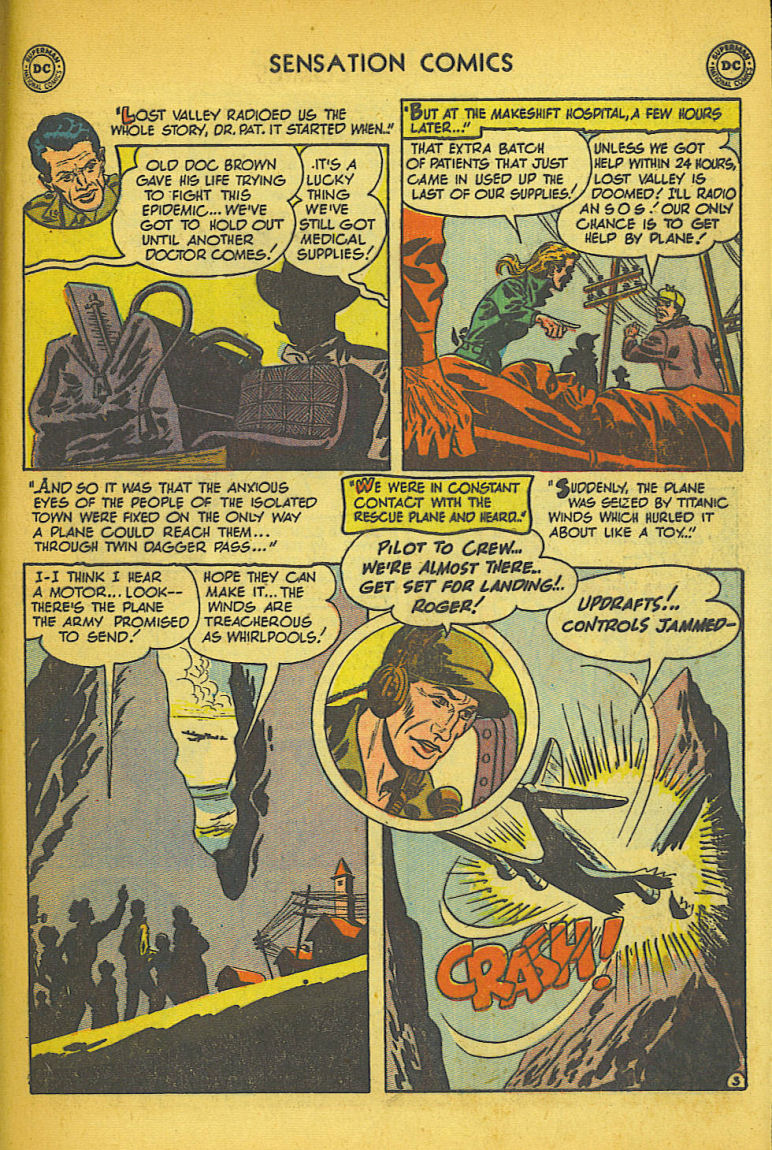 Read online Sensation (Mystery) Comics comic -  Issue #104 - 43