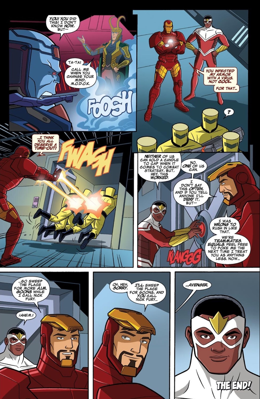 Read online Marvel Universe Avengers Assemble Season 2 comic -  Issue #1 - 33