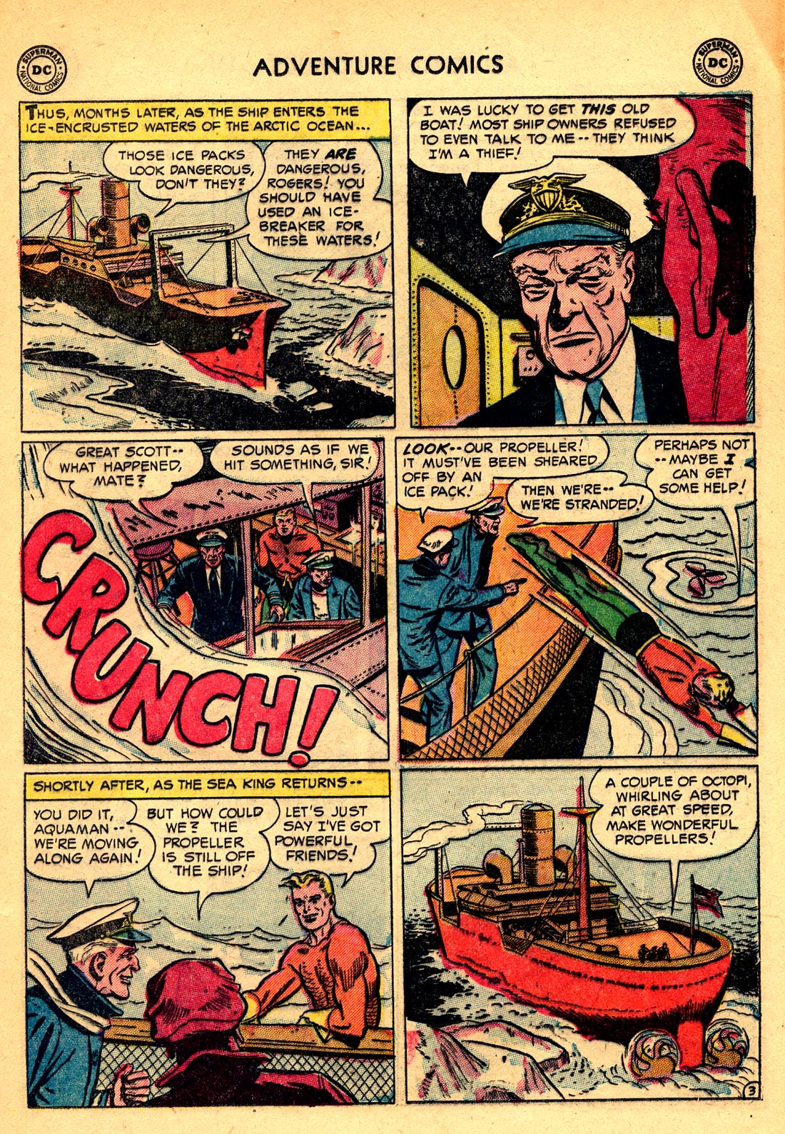 Read online Adventure Comics (1938) comic -  Issue #209 - 17