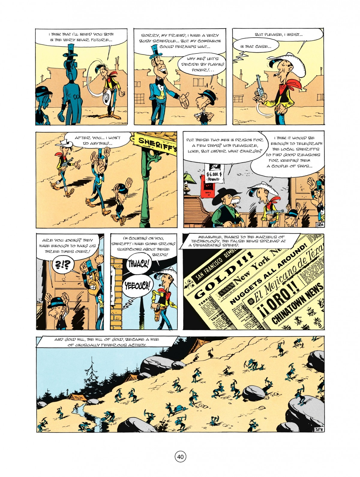 Read online A Lucky Luke Adventure comic -  Issue #2 - 42
