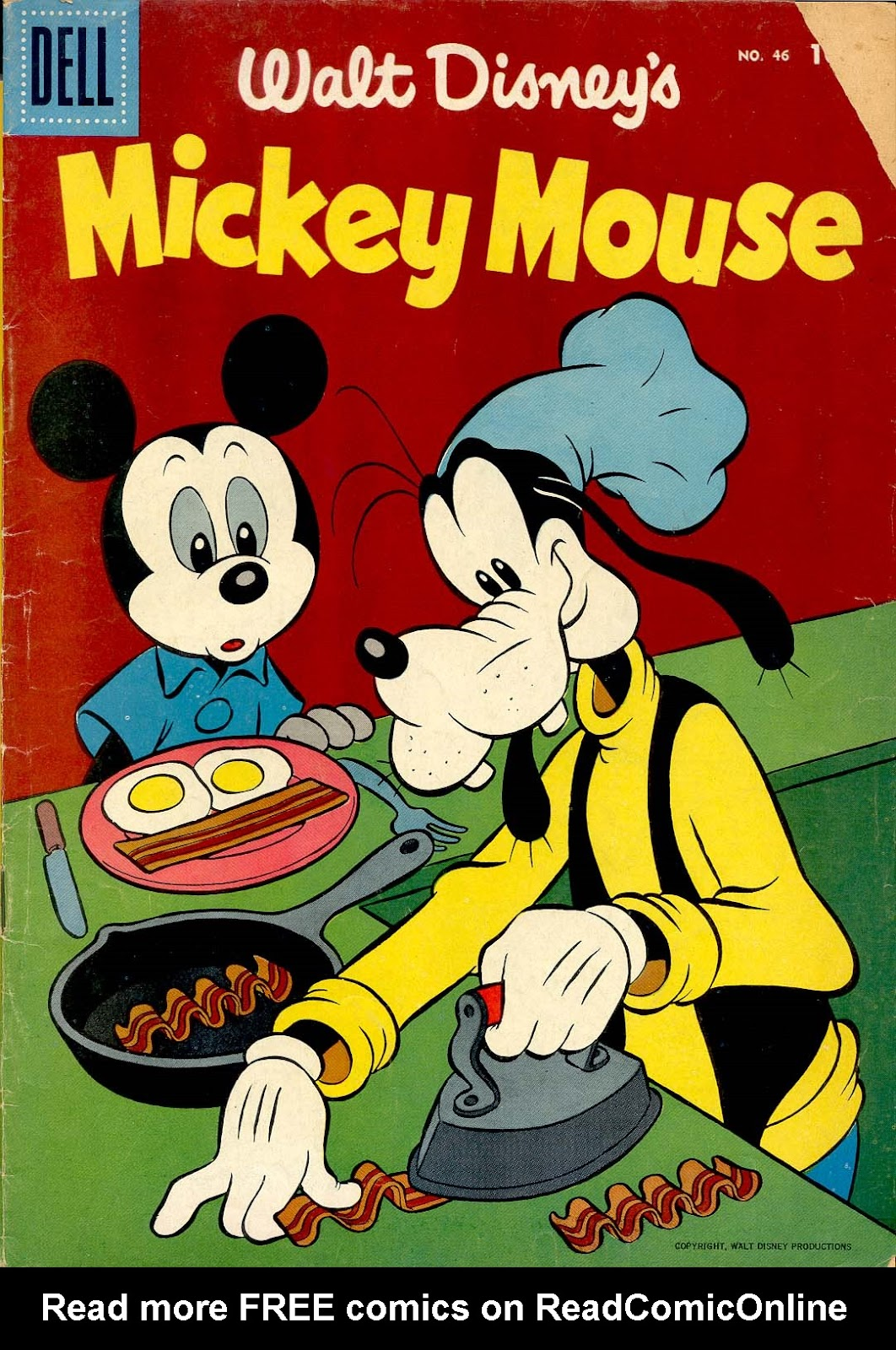 Walt Disney's Mickey Mouse issue 46 - Page 1