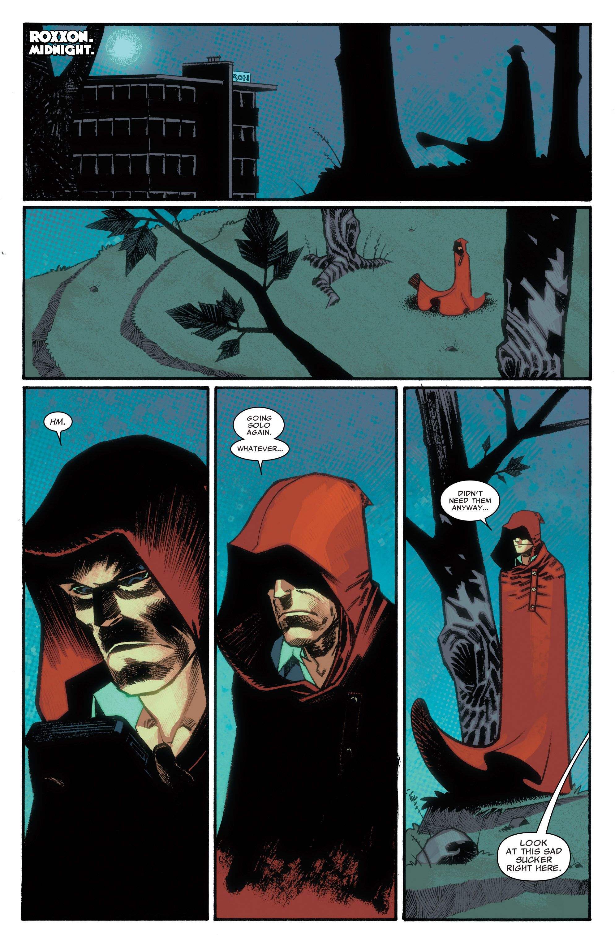 Read online Illuminati comic -  Issue #3 - 18