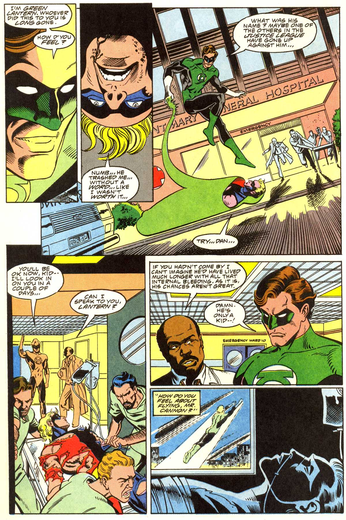 Read online Peter Cannon--Thunderbolt (1992) comic -  Issue #1 - 9