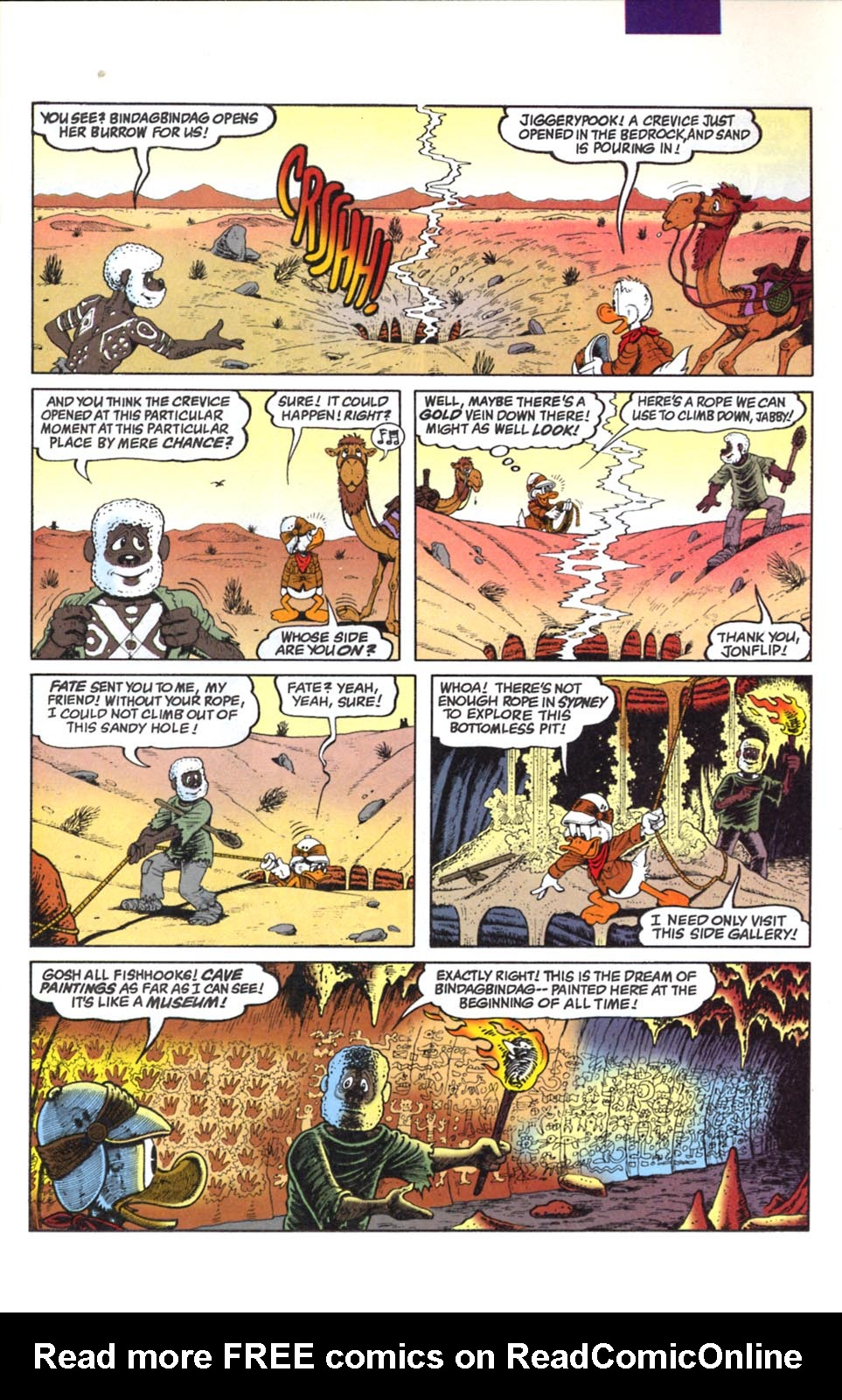 Read online Uncle Scrooge (1953) comic -  Issue #291 - 7