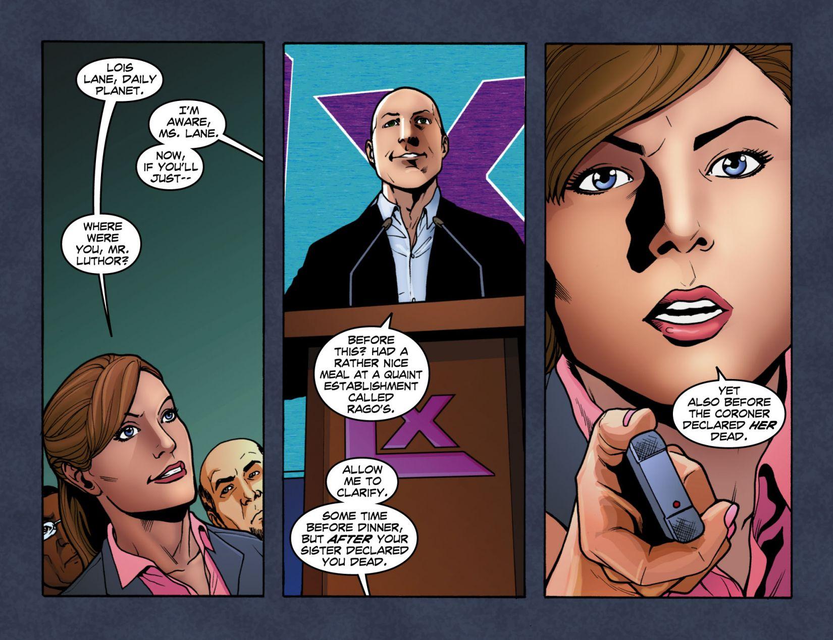Read online Smallville: Season 11 comic -  Issue #4 - 16
