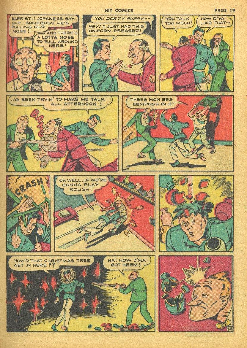 Read online Hit Comics comic -  Issue #24 - 21