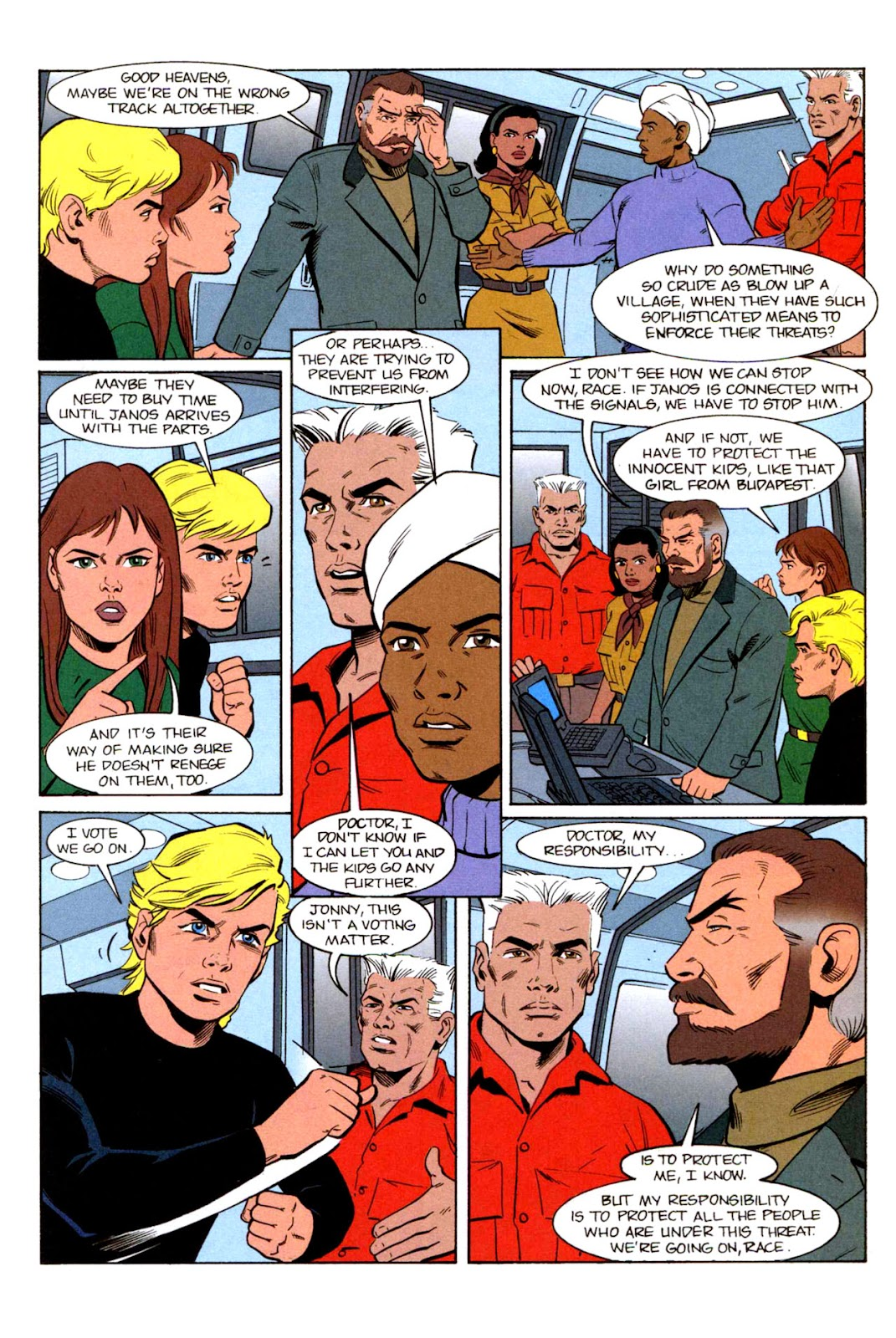 Read online The Real Adventures of Jonny Quest comic -  Issue #3 - 13