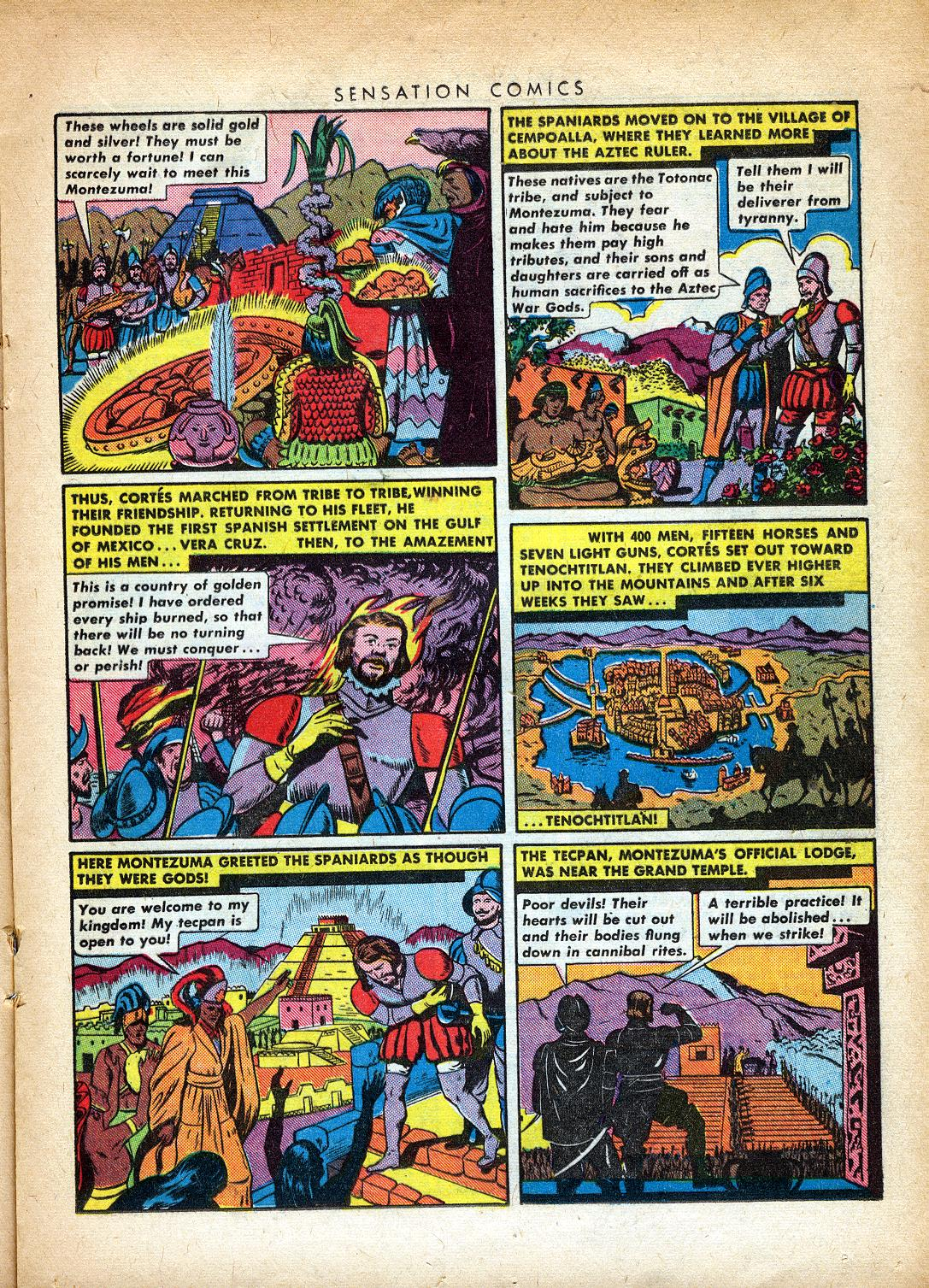 Read online Sensation (Mystery) Comics comic -  Issue #37 - 25