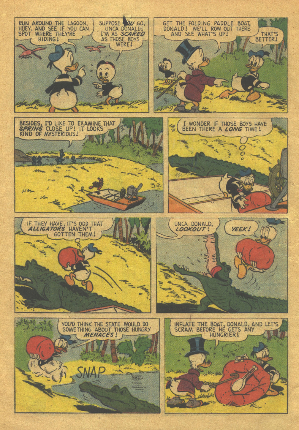 Read online Uncle Scrooge (1953) comic -  Issue #32 - 8