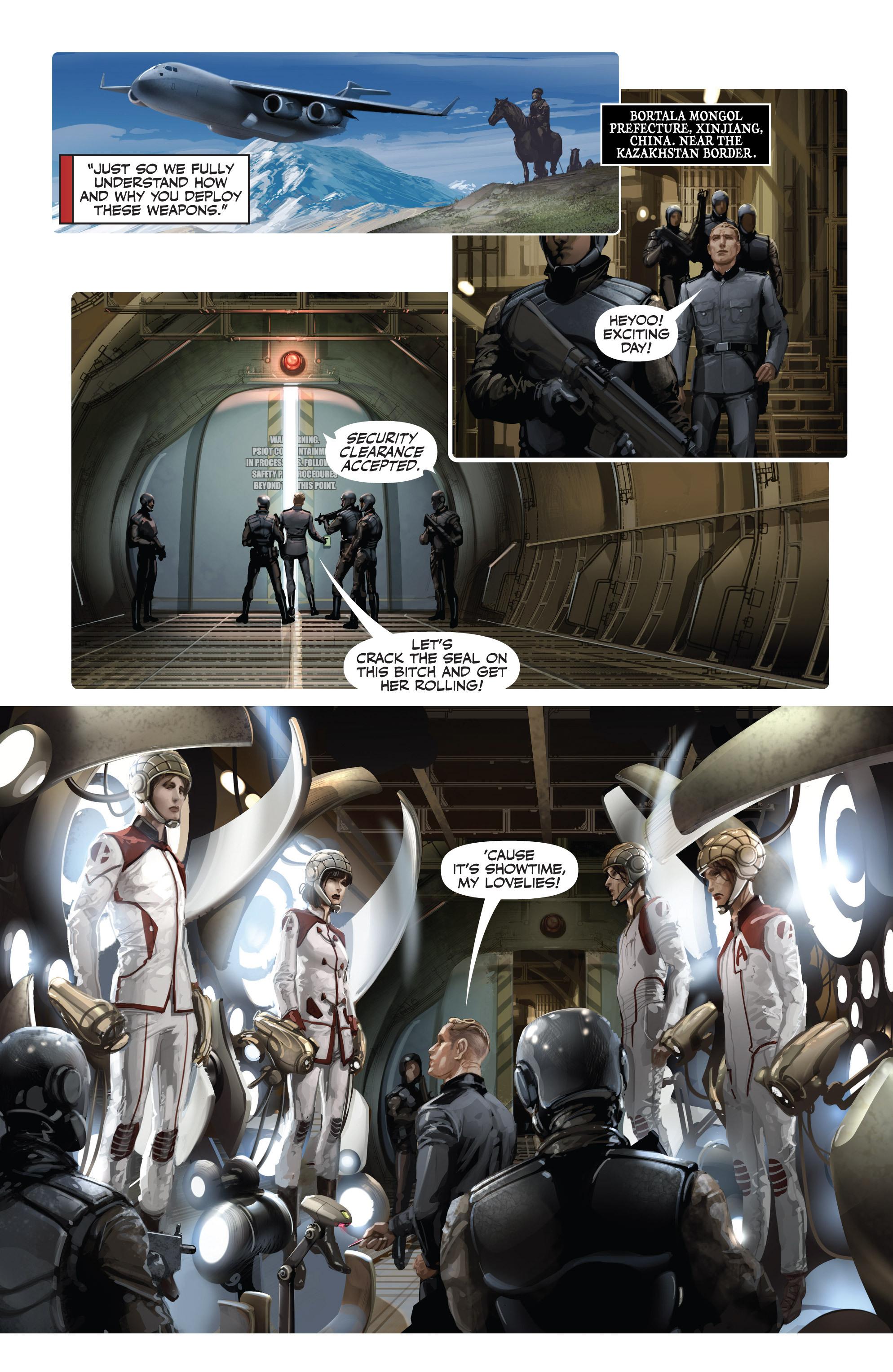 Read online Armor Hunters: Harbinger comic -  Issue # TPB - 79