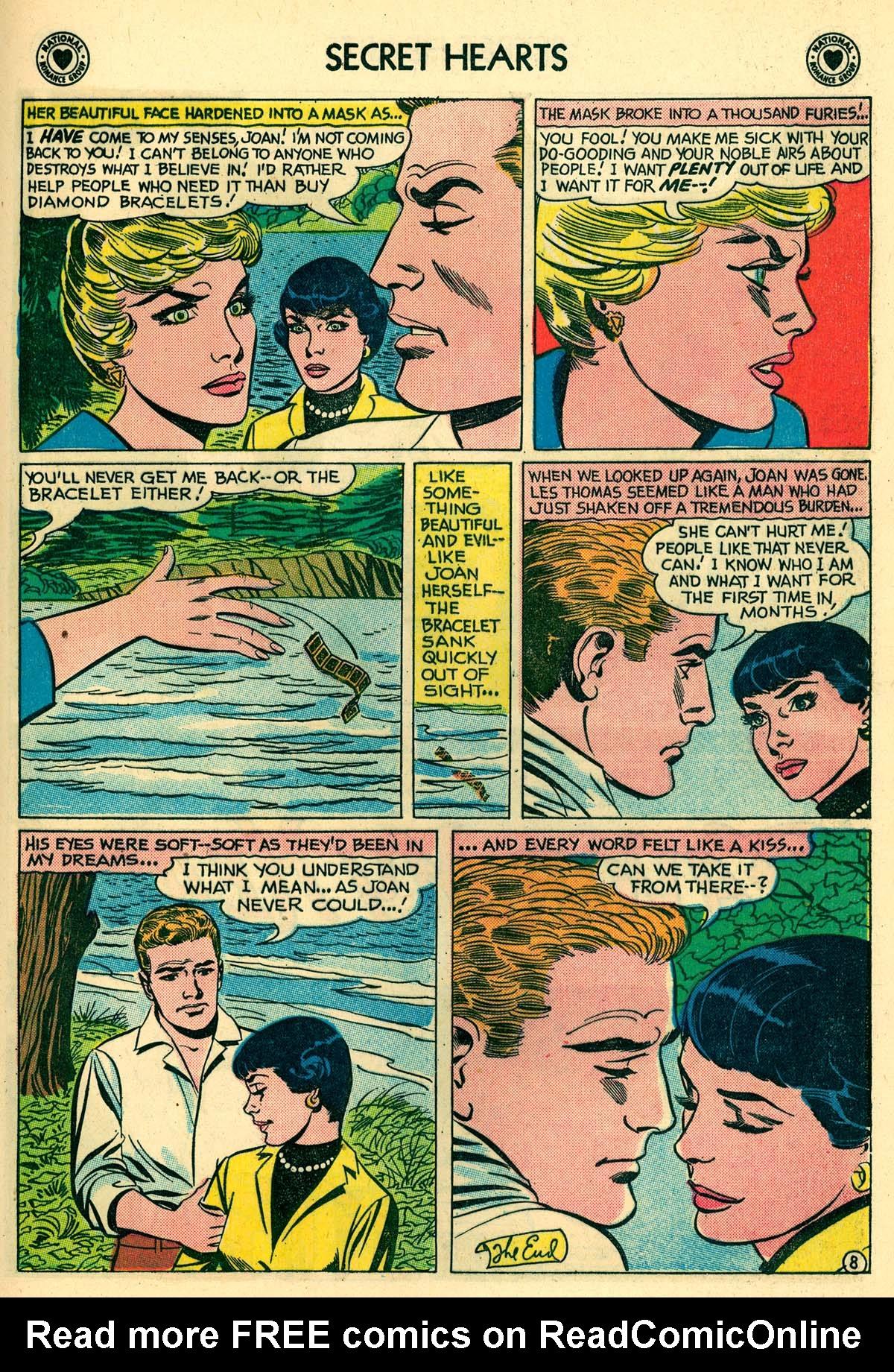 Read online Secret Hearts comic -  Issue #59 - 17