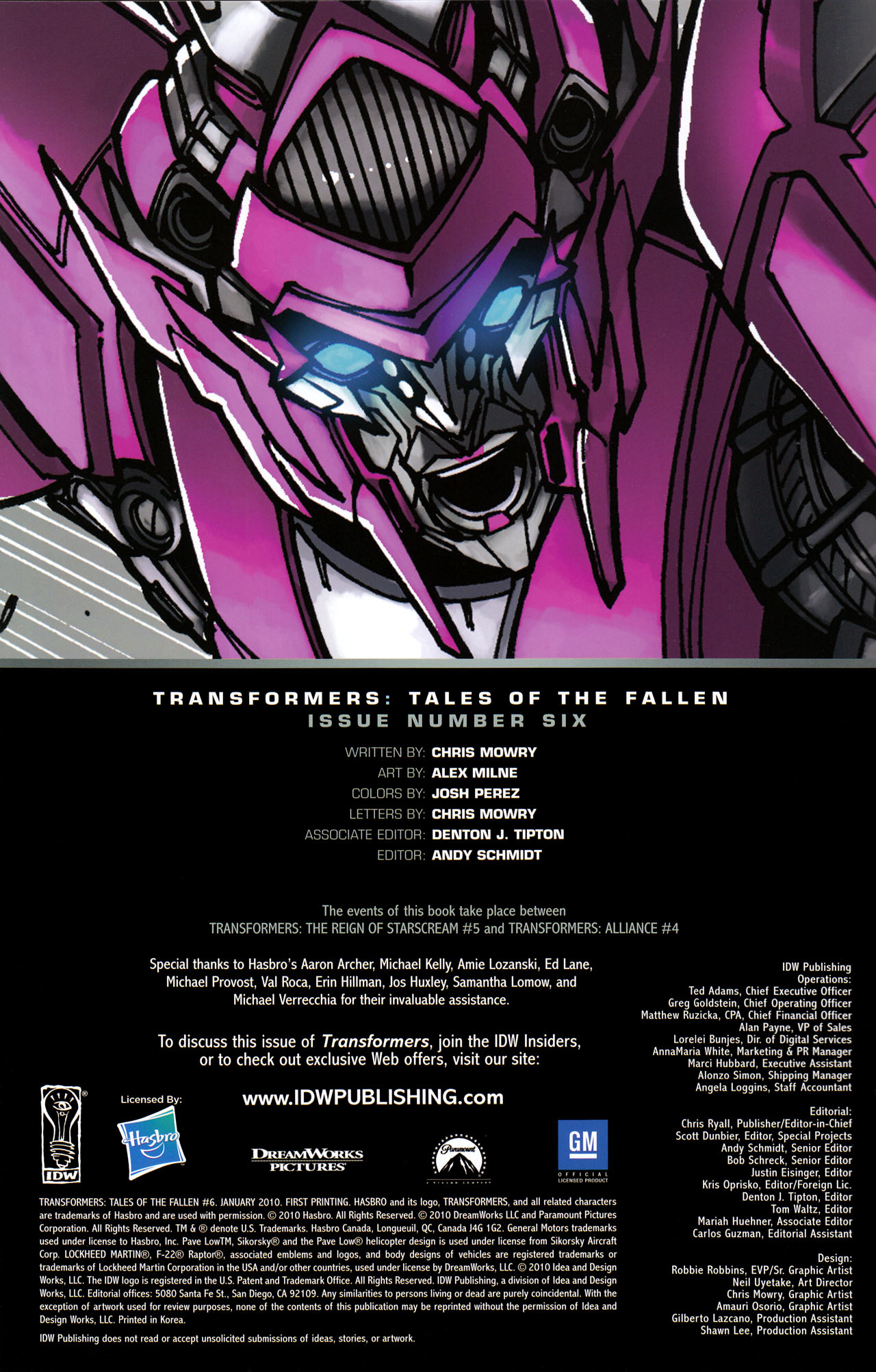 Read online Transformers: Tales of The Fallen comic -  Issue #6 - 2