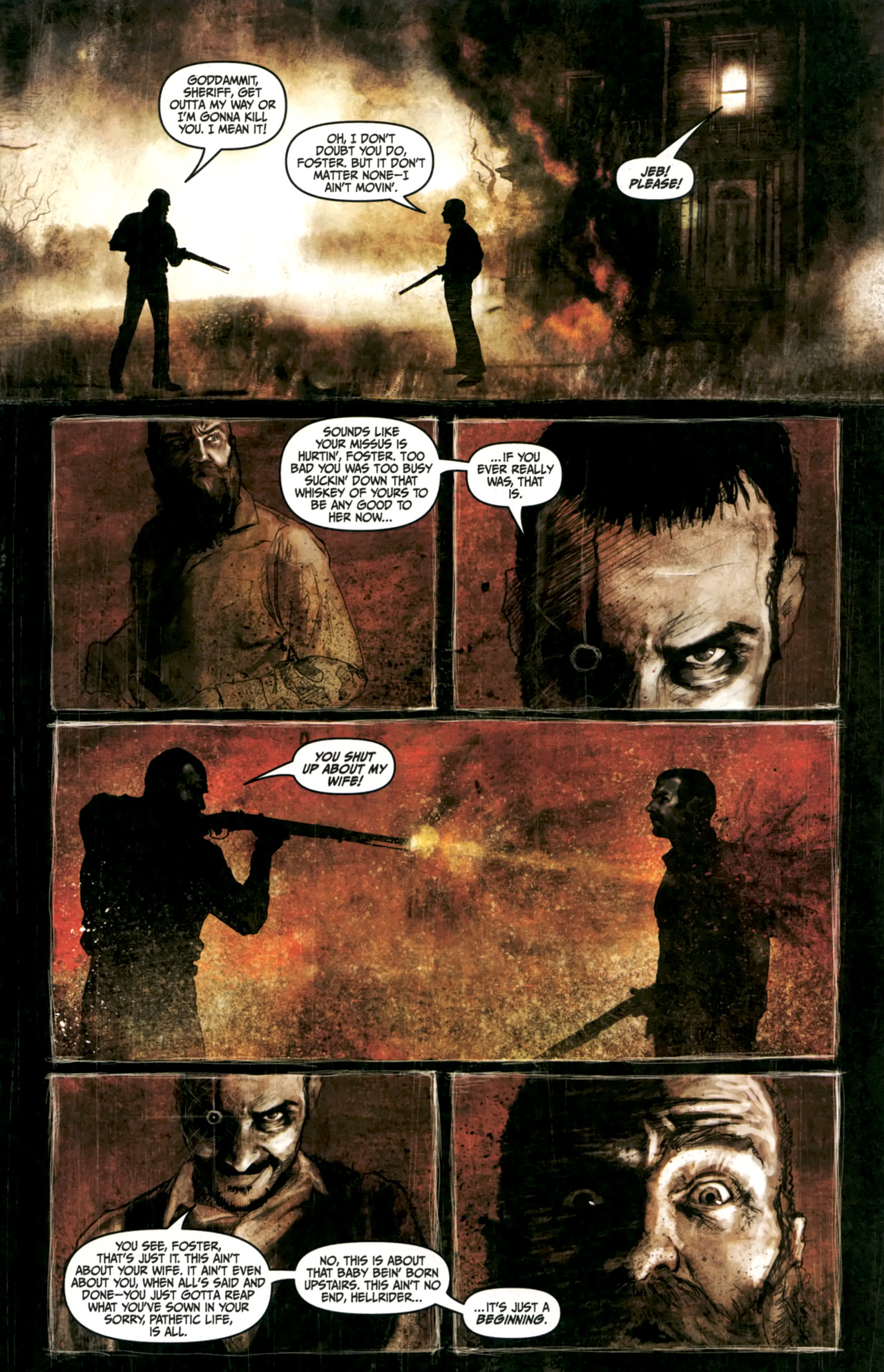 Read online Silent Hill: Past Life comic -  Issue #4 - 14