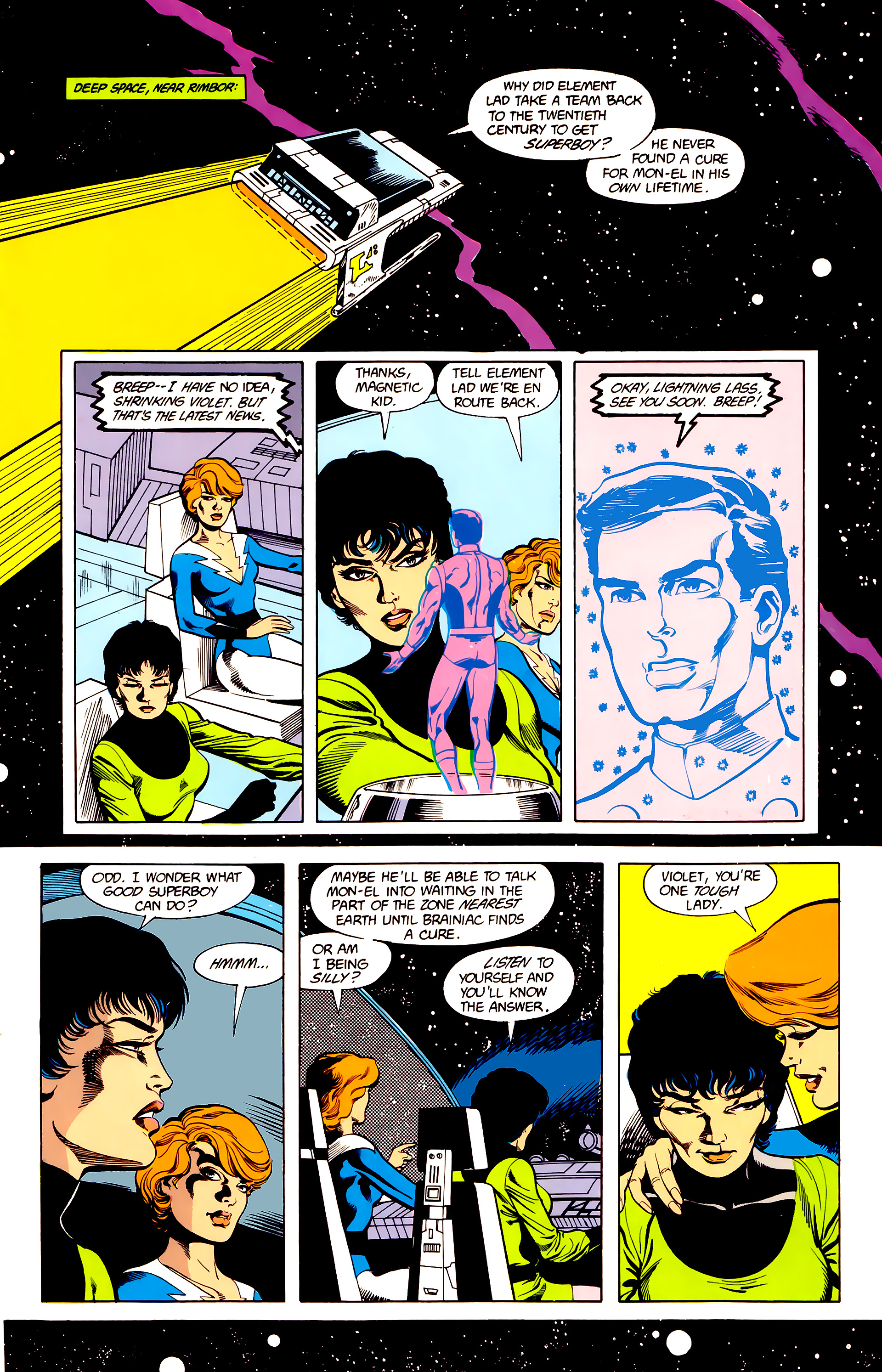 Legion of Super-Heroes (1984) 23 Page 20