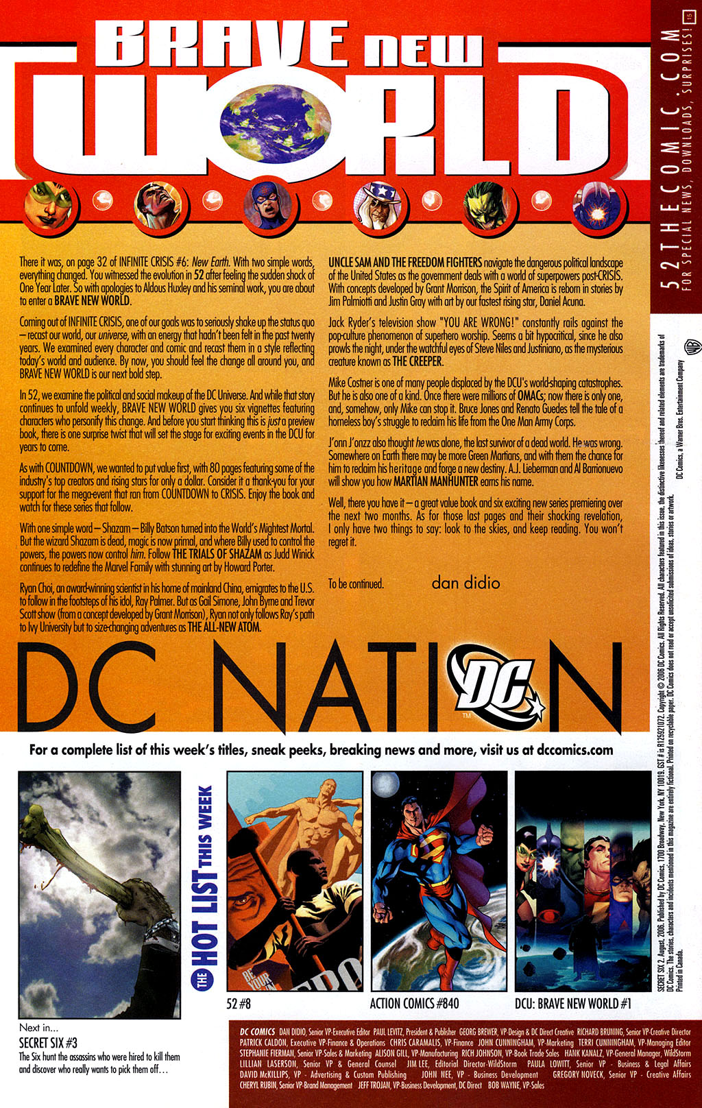 Read online Secret Six (2006) comic -  Issue #2 - 24