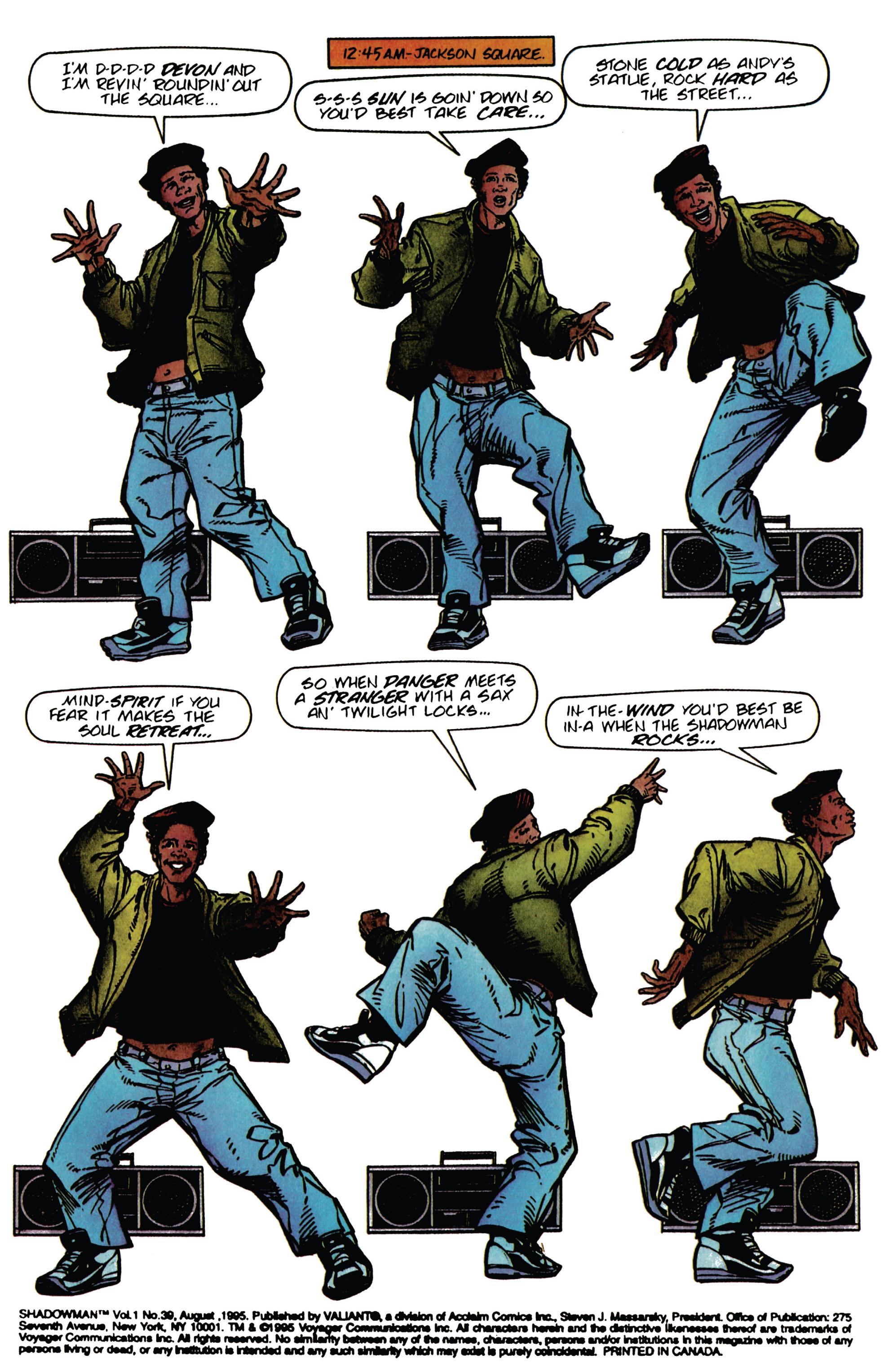 Read online Shadowman (1992) comic -  Issue #39 - 2
