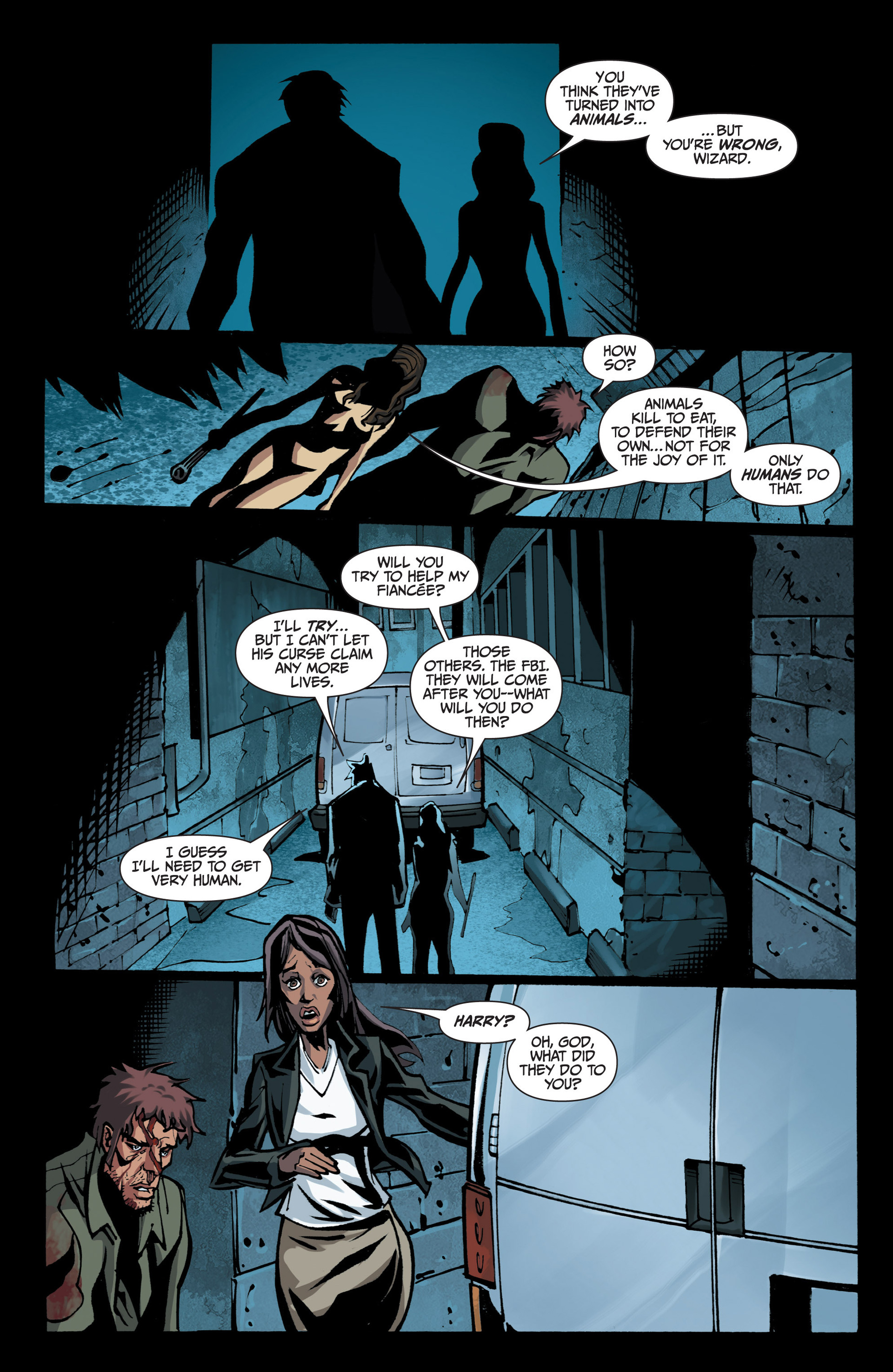 Read online Jim Butcher's The Dresden Files: Fool Moon comic -  Issue #7 - 13