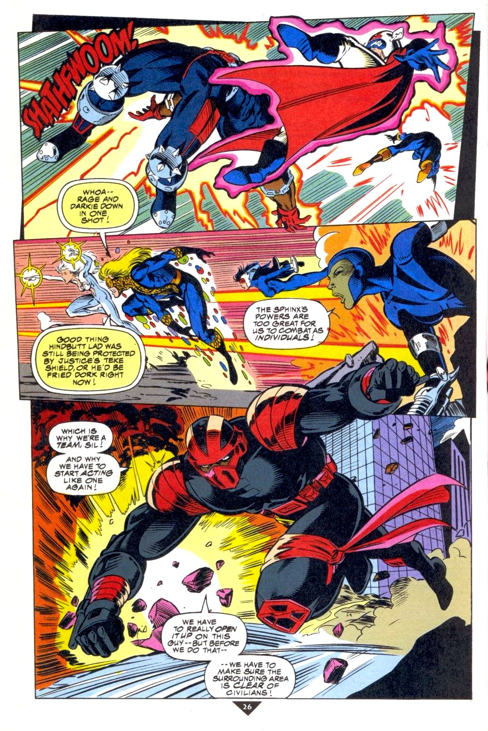 The New Warriors Issue #50 #54 - English 20