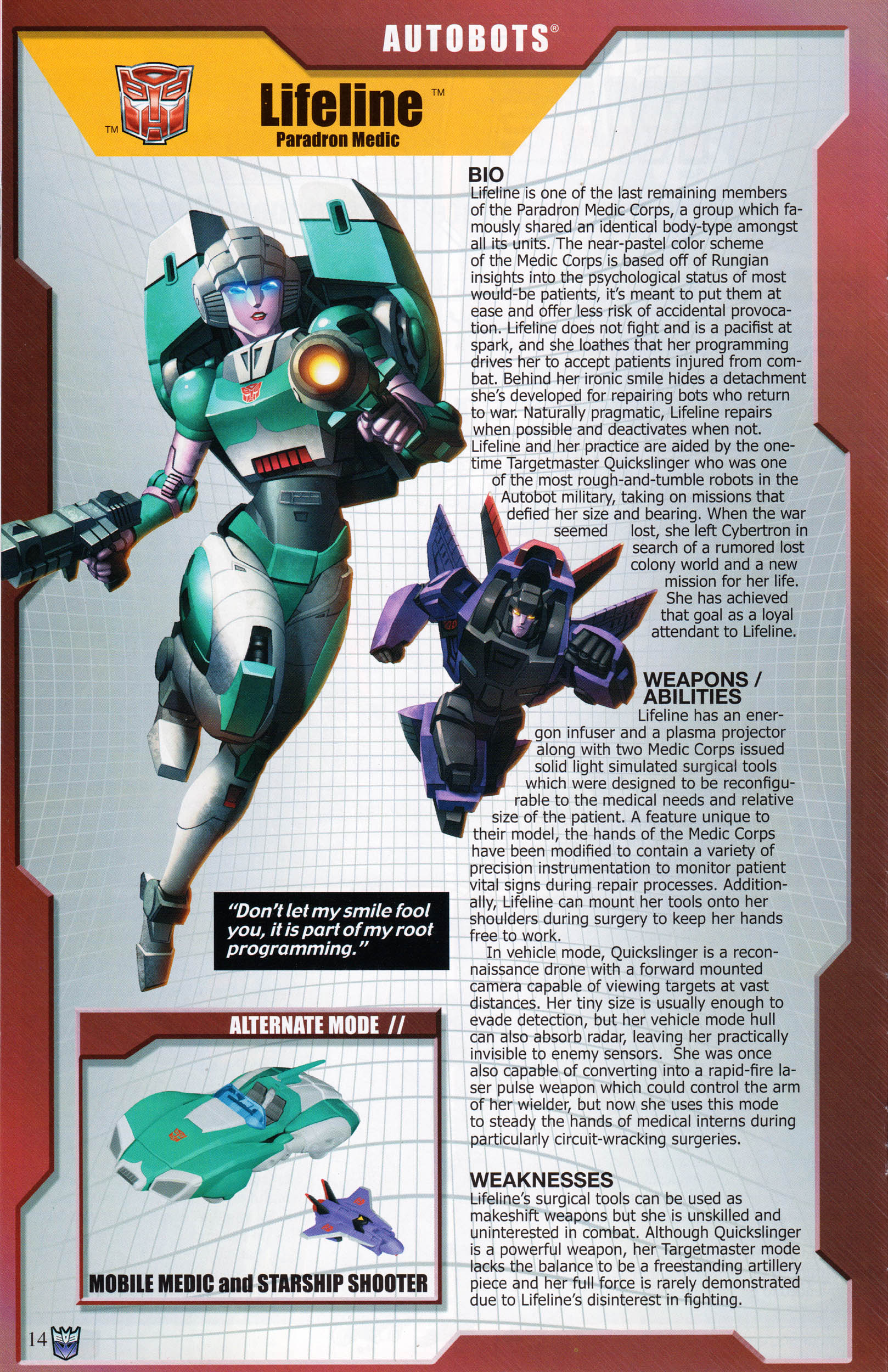 Read online Transformers: Collectors' Club comic -  Issue #68 - 14
