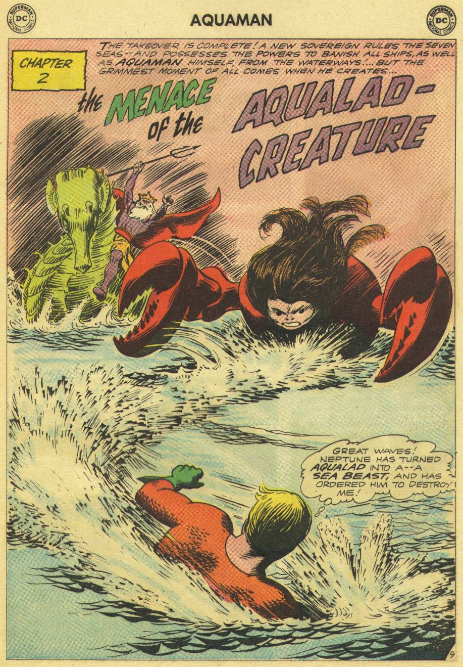 Read online Aquaman (1962) comic -  Issue #9 - 13