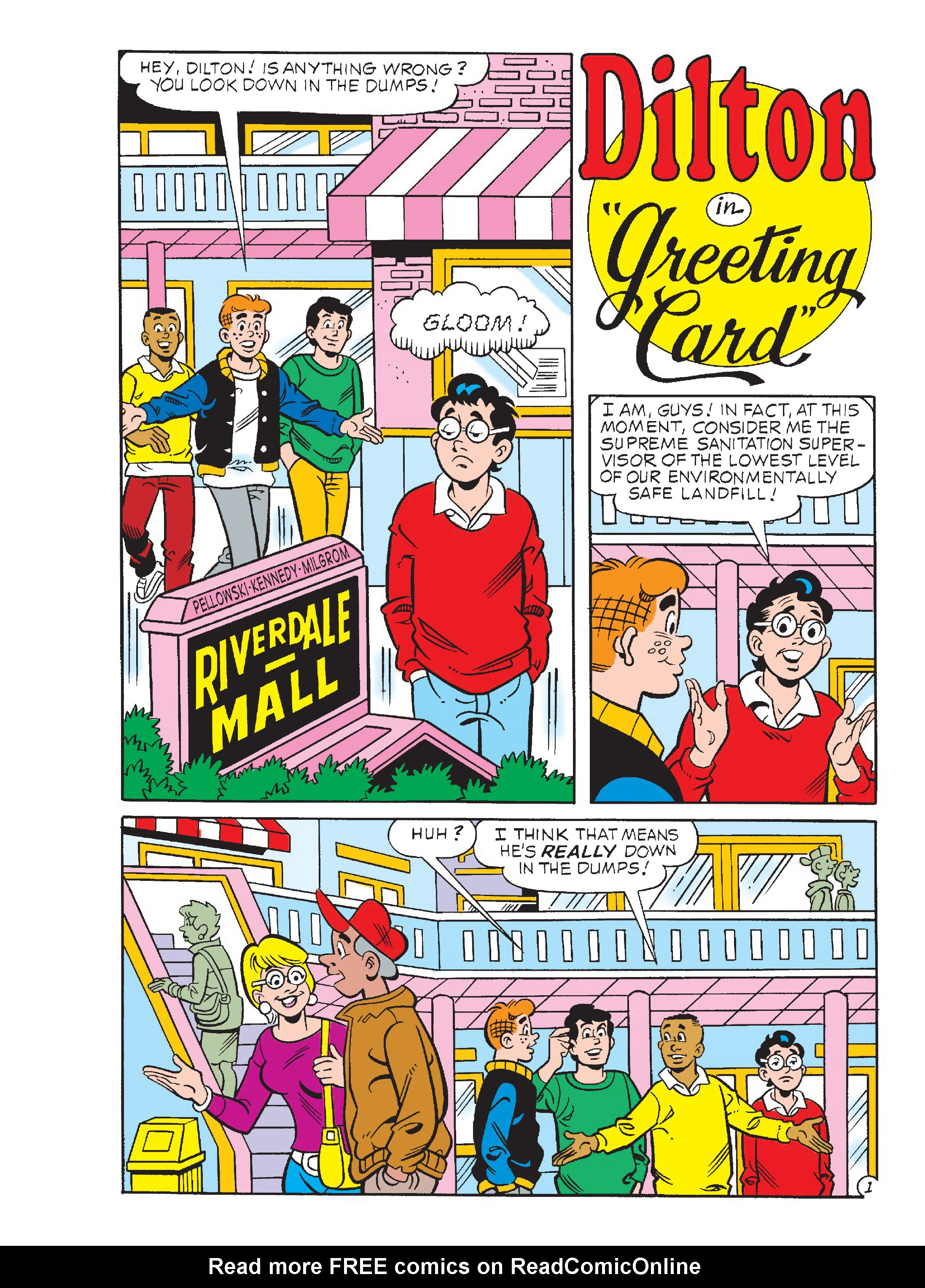 Read online Archie's Funhouse Double Digest comic -  Issue #23 - 61